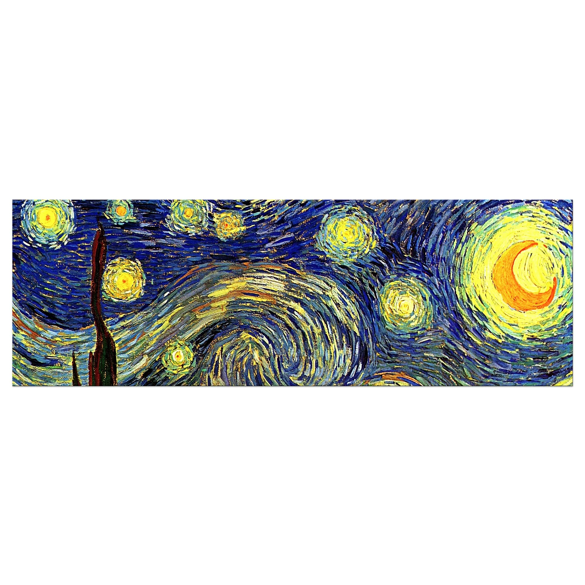 Kunstdrucke Van Gogh Starry Night By Vincent Van Gogh Framed Oil Painting Print On Canvas