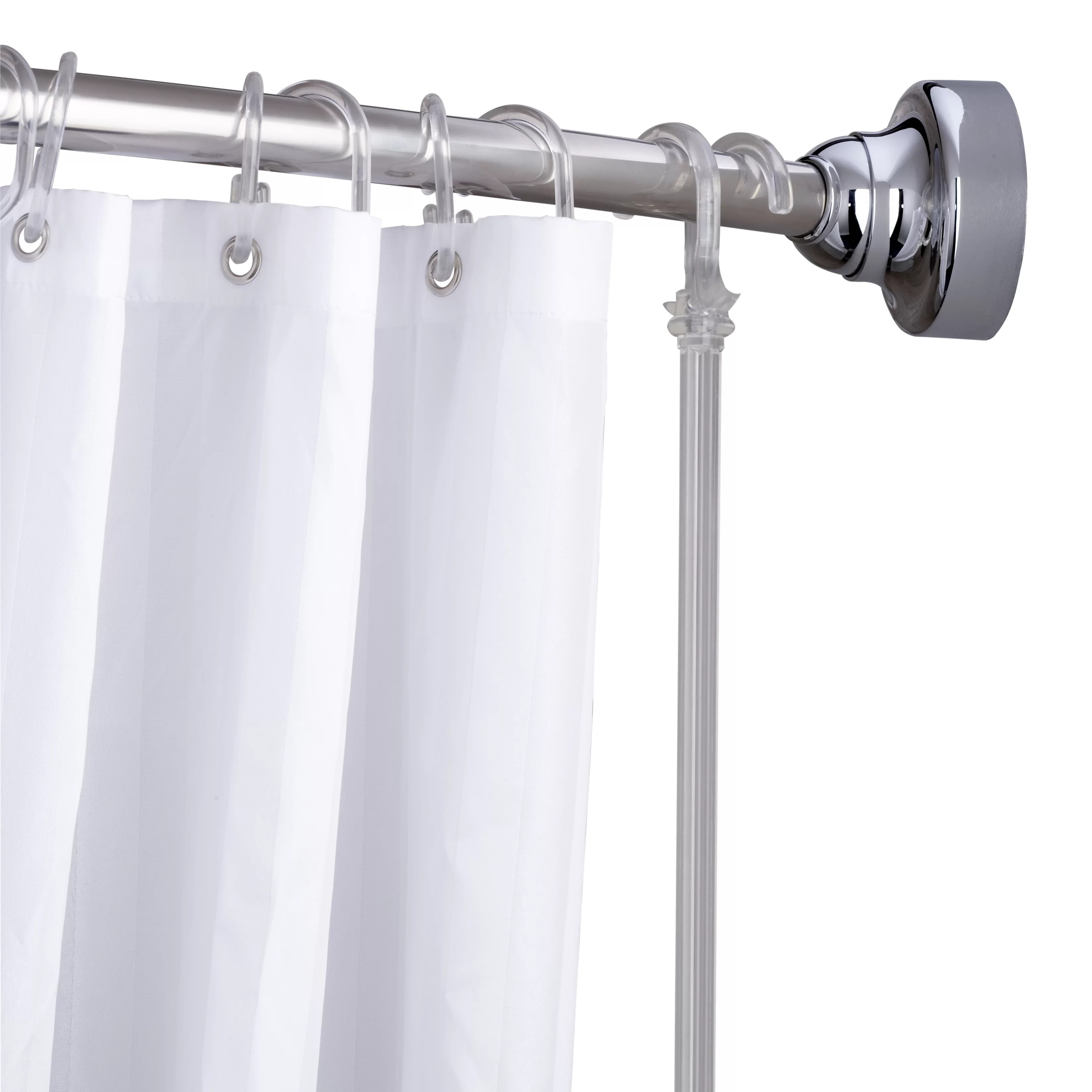 Unique Shower Curtain Rods Space Saver 60