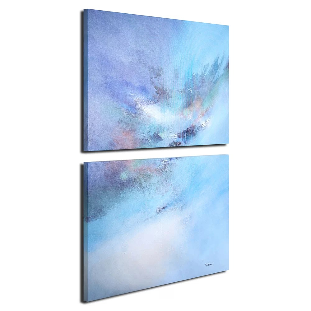 Printing Canvas Color Composition Oil Painting Print Multi Piece Image On Canvas