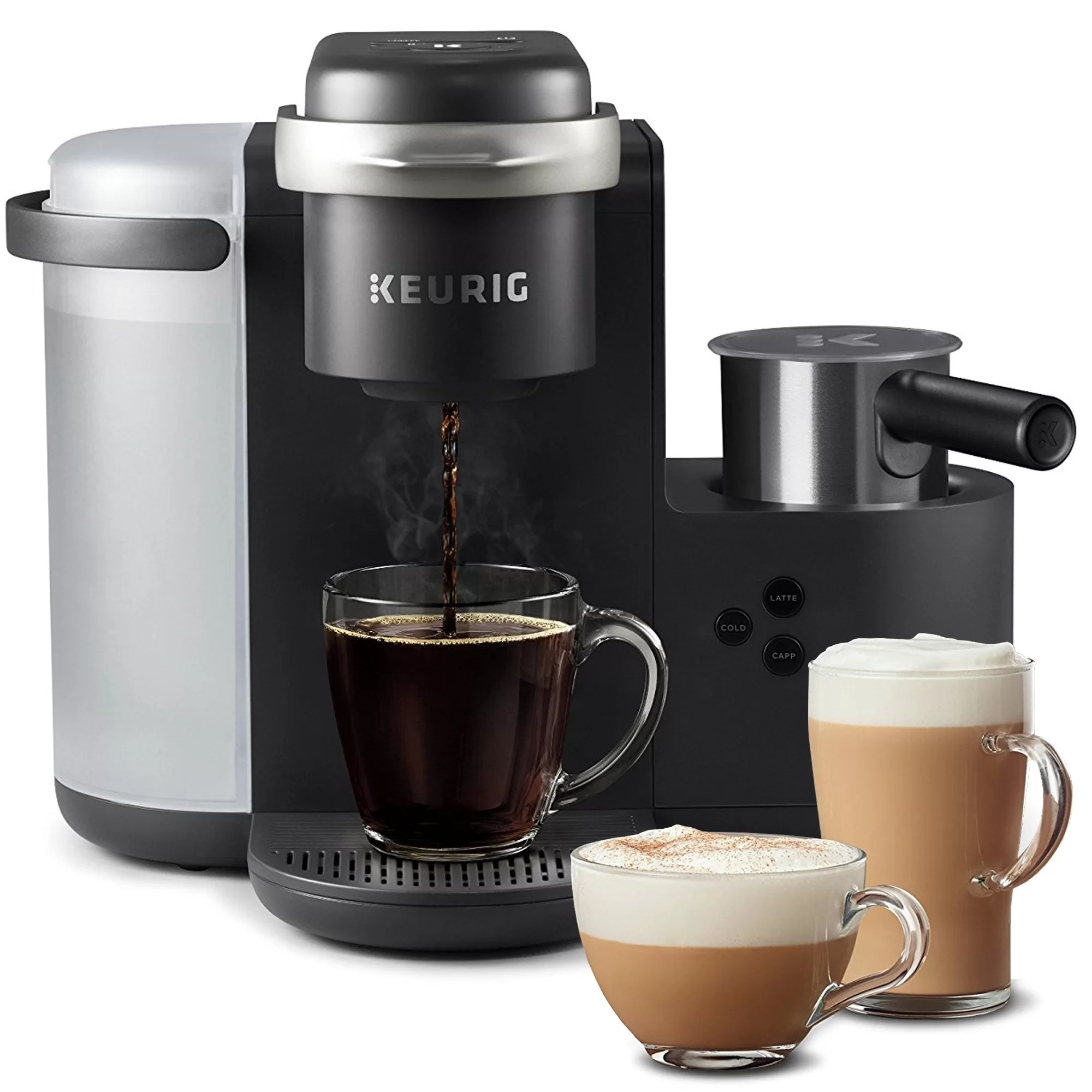 Cappuccino Machine Keurig K Cafe Single Serve K Cup Pod Coffee Latte Cappuccino Maker