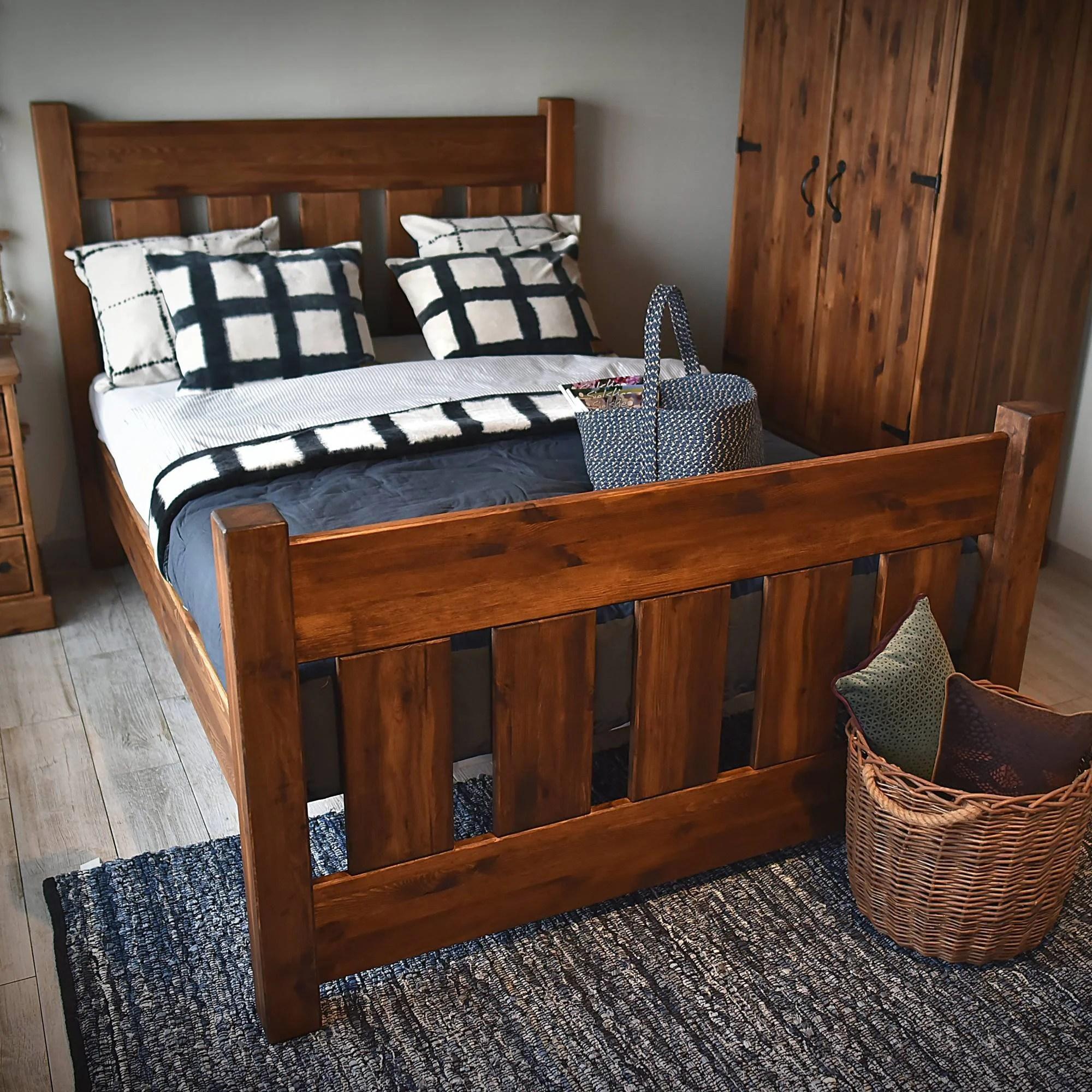 Massivholz Bett Rustikal Rustikale Betten Im Landhausstil Hier