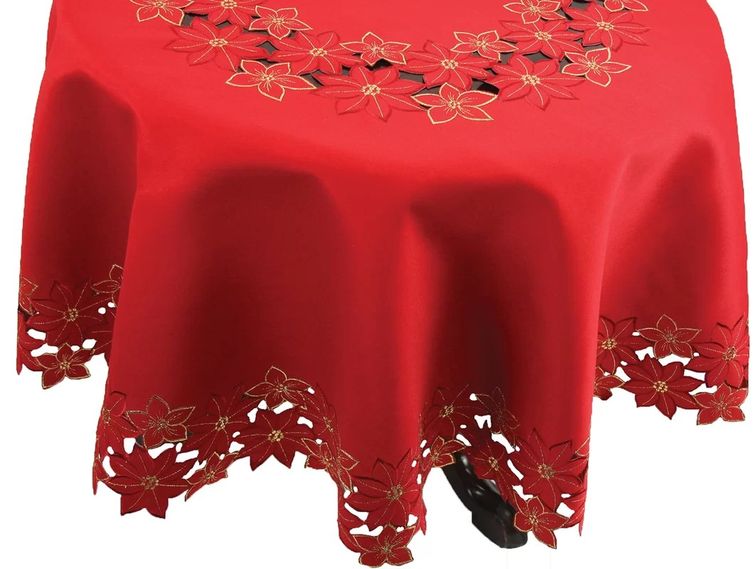 Christmas Tablecloths Australia Image Round Red Tablecloth Holiday Tablecloth Decorative