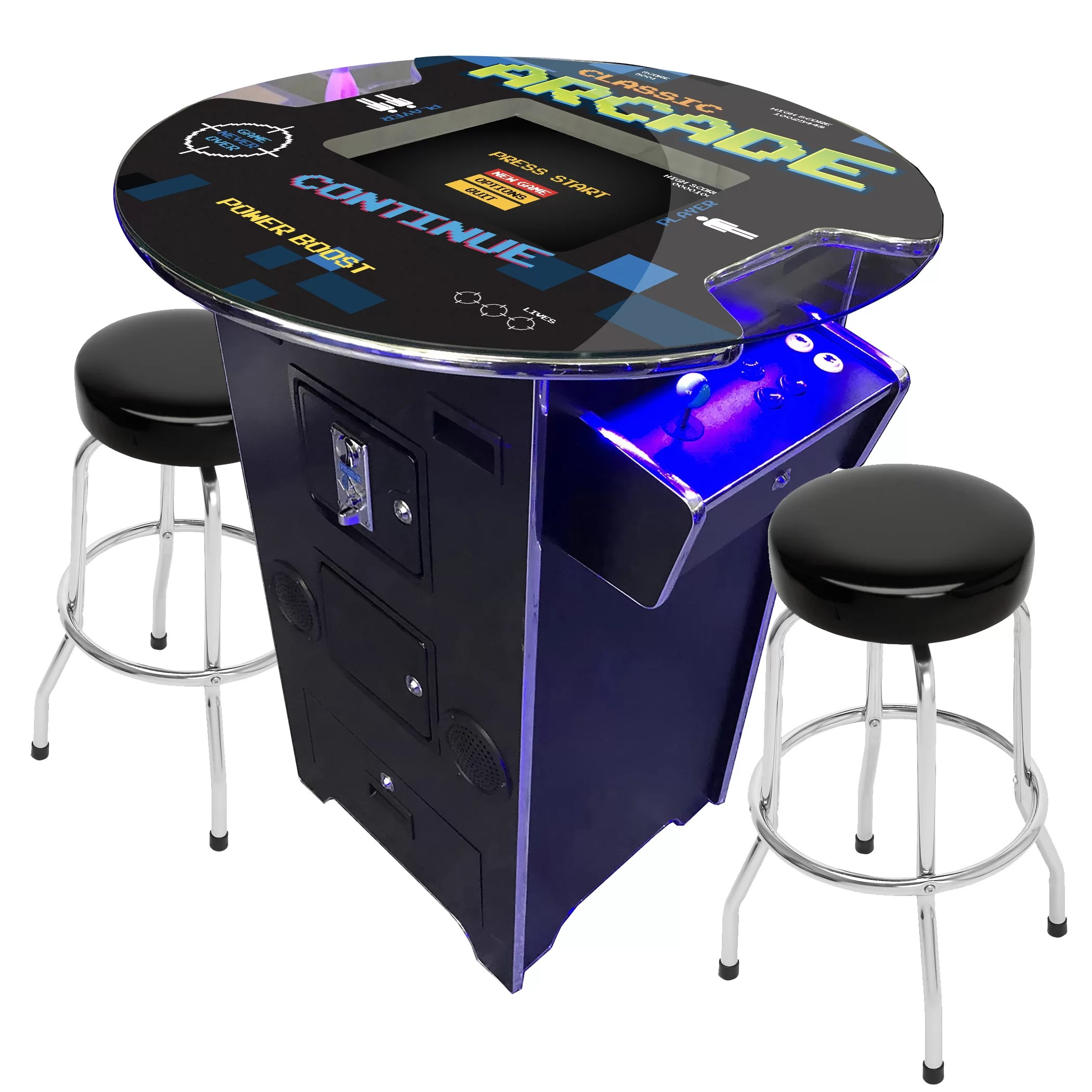 Classic Table Arcade Games 60 Games Creative Arcades Full Size Commercial Grade Pub Arcade Stand Up Machine