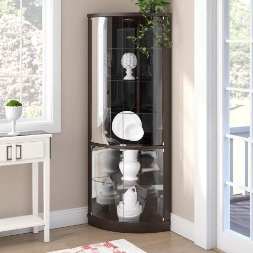Medium Crop Of Corner Curio Cabinet