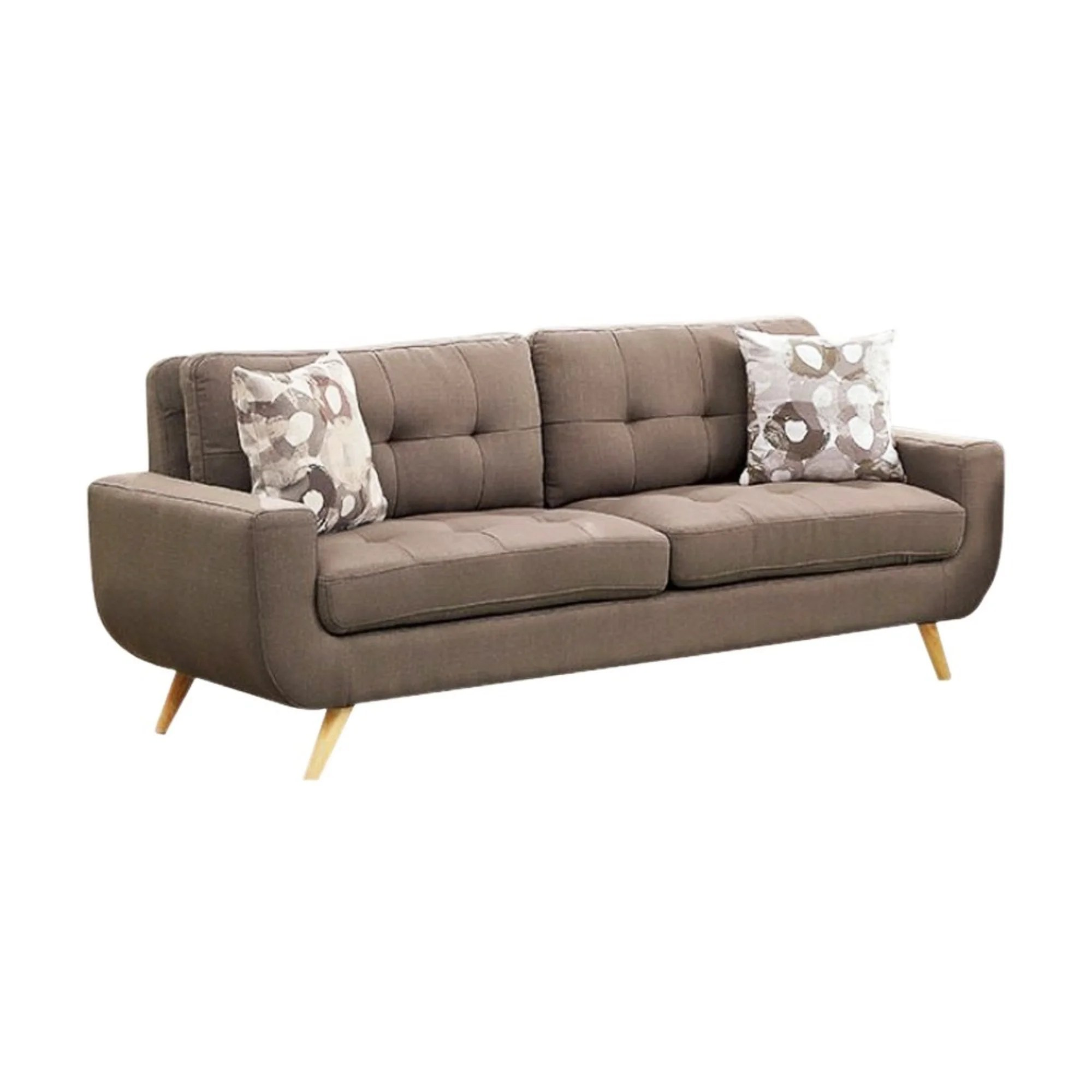 U Sofa Walton Bay Tufted Sofa With U Shaped Base