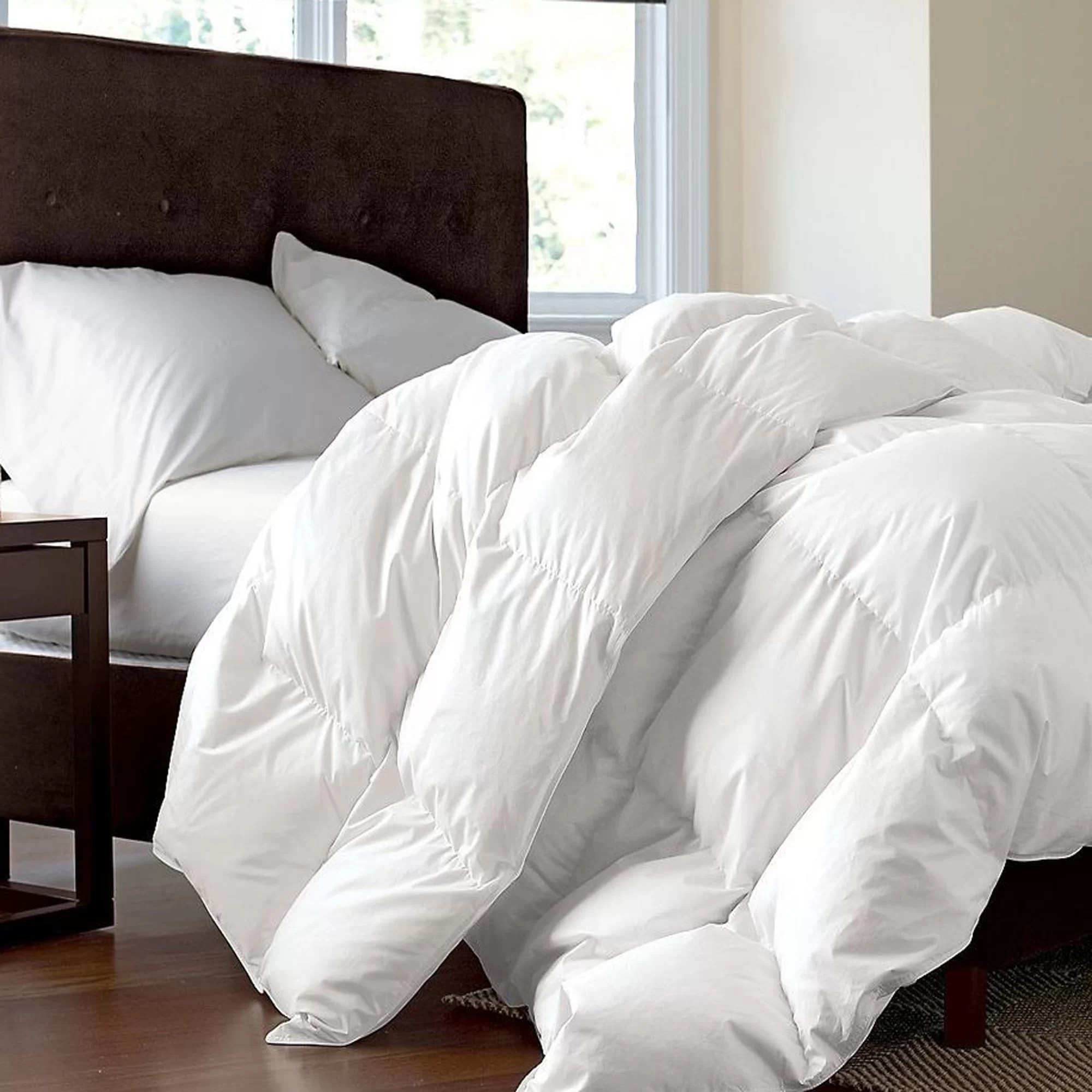 Simply Down Canadian Dream Lightweight Summer Down Comforter Wayfair