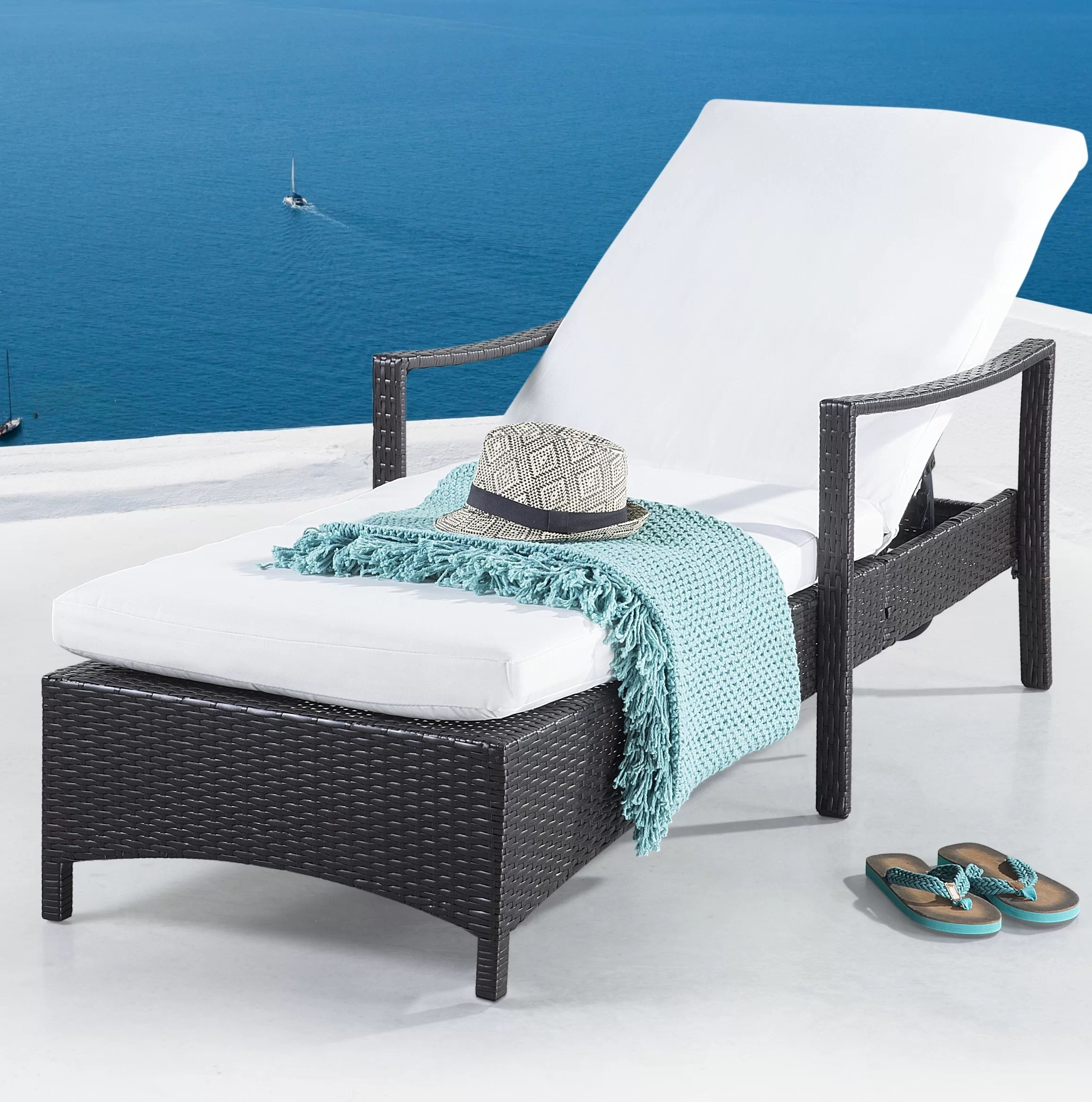 Pool Chaise Lounge Chairs Farish Patio Chaise Lounge