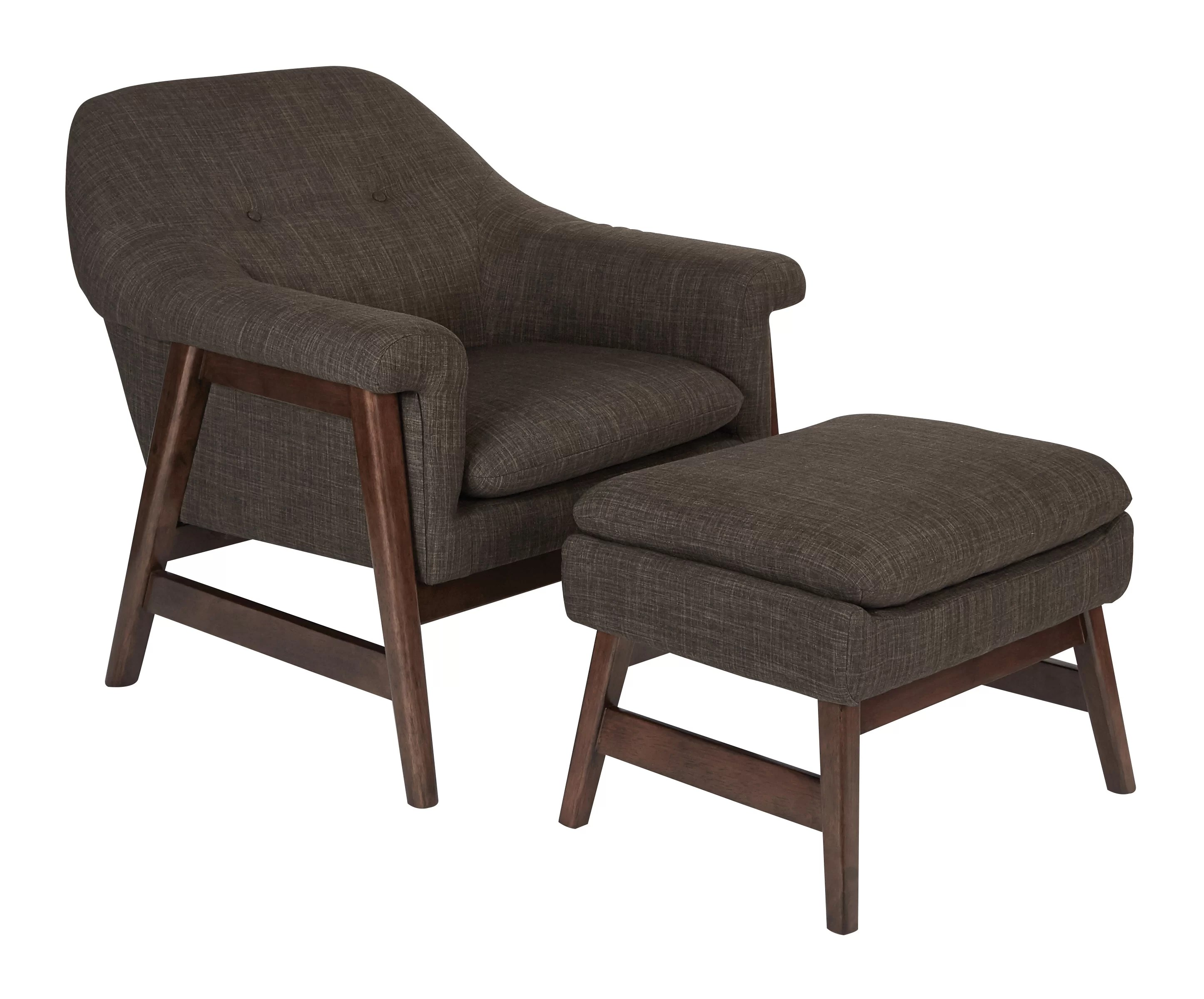 Chair Ottoman Wilber Lounge Chair And Ottoman