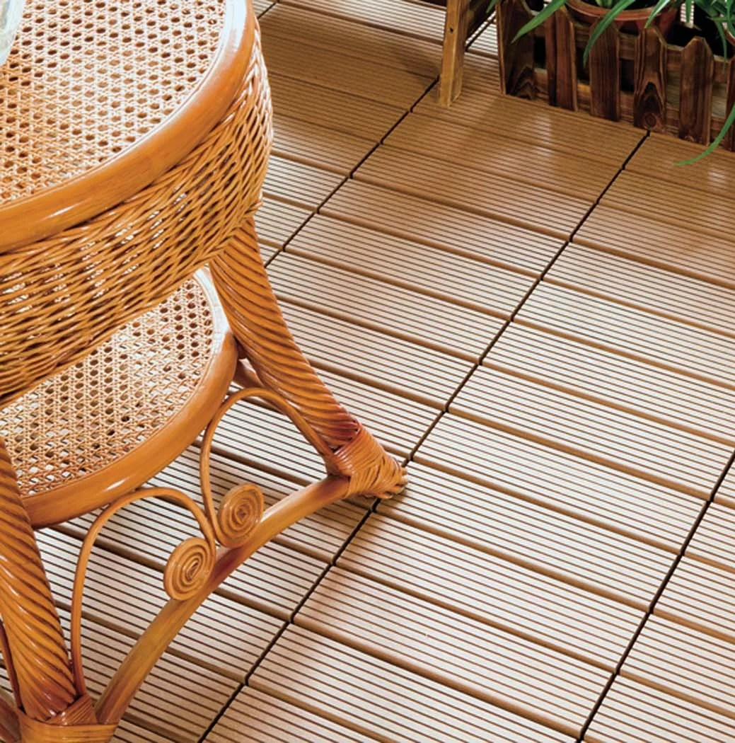 Interlocking Deck Tiles Courtyard 12