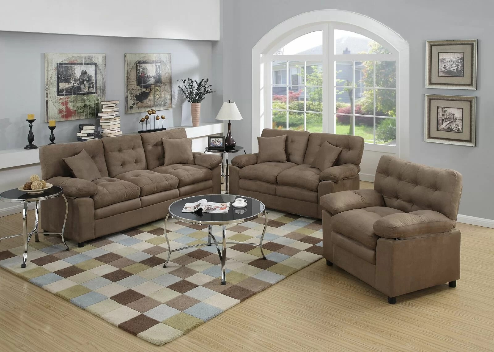 Living Room Sofas Sets Hayleigh 3 Piece Living Room Set