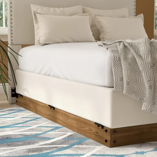 Zipcode Design Winston Wood Bed Frame For Box Spring - Box Spring Bed
