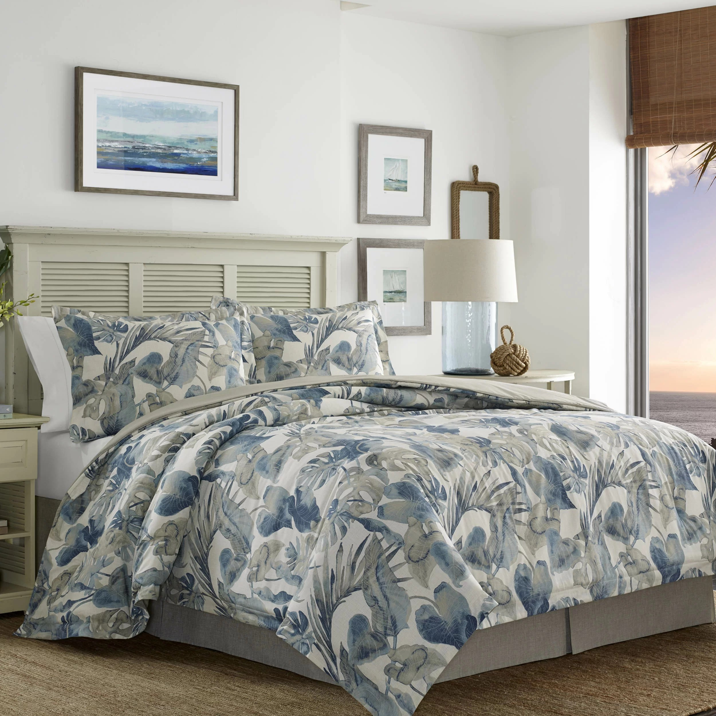 Duvet And Comforter Sets Raw Coast 4 Piece Comforter Set Tommy Bahama Bedding