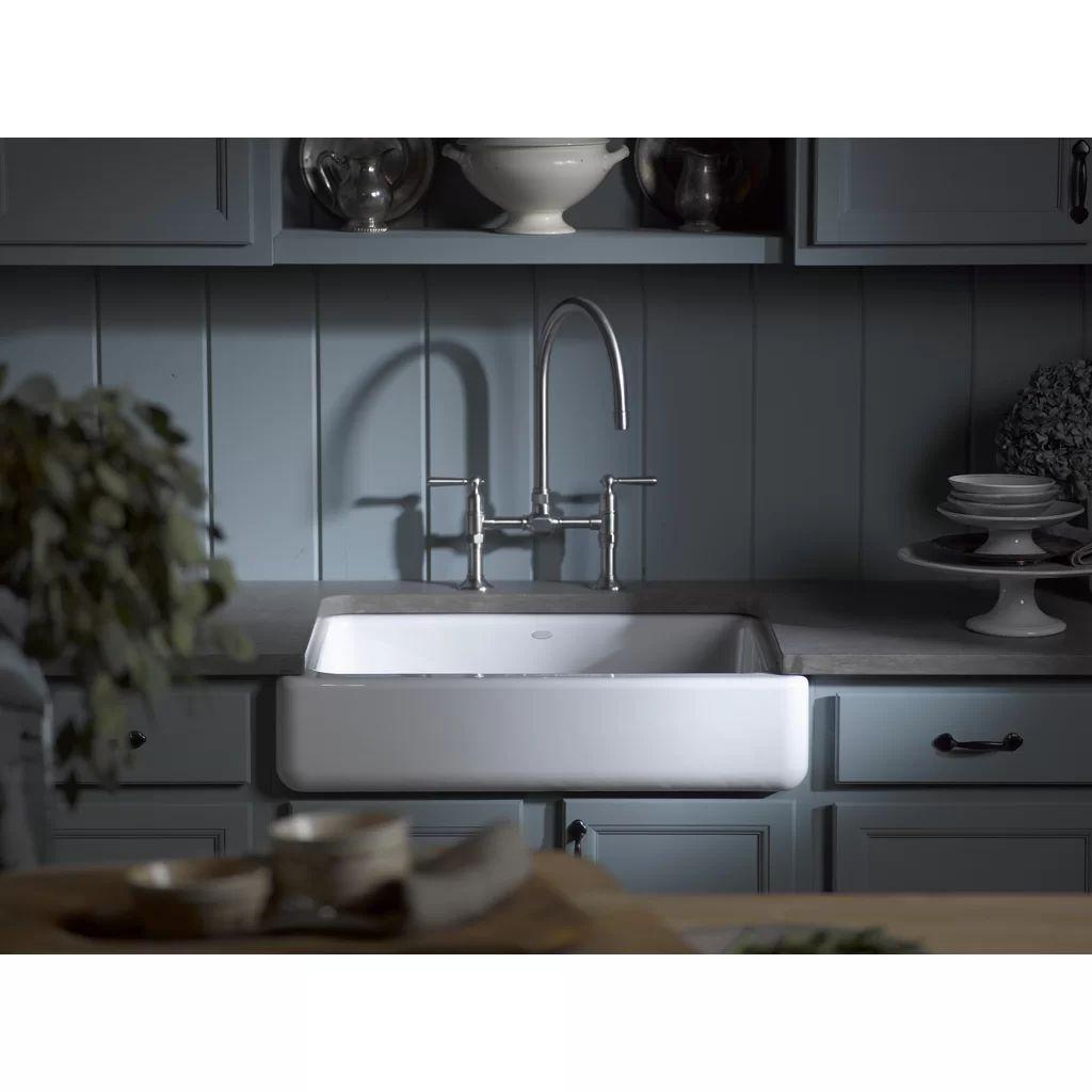 Cast iron single bowl kitchen sink - Cast Iron Single Bowl Kitchen Sink Cast Iron Single Bowl Kitchen Sink Whitehaven Self Trimming