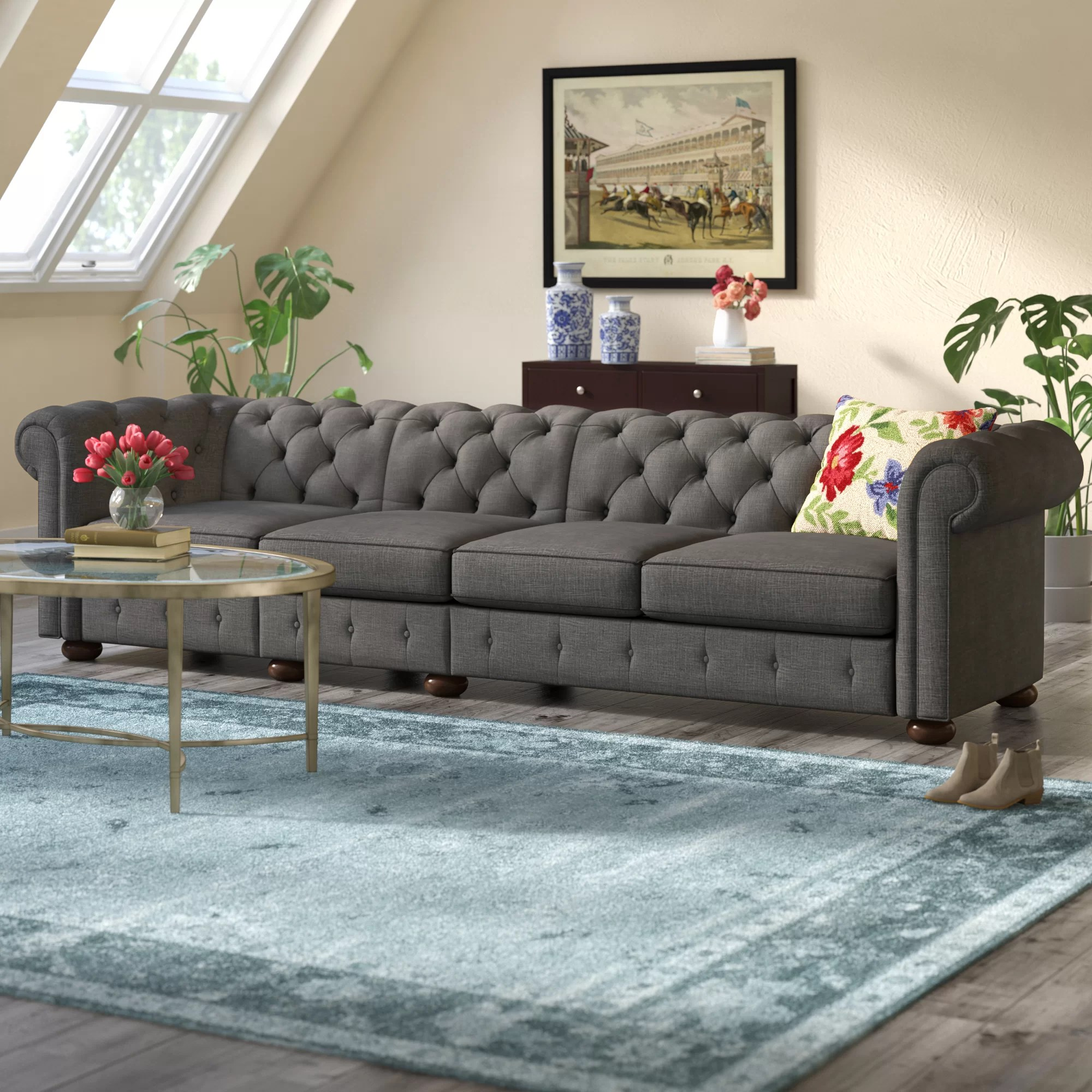 Sofa Couch Or Chesterfield Gowans Chesterfield Sofa