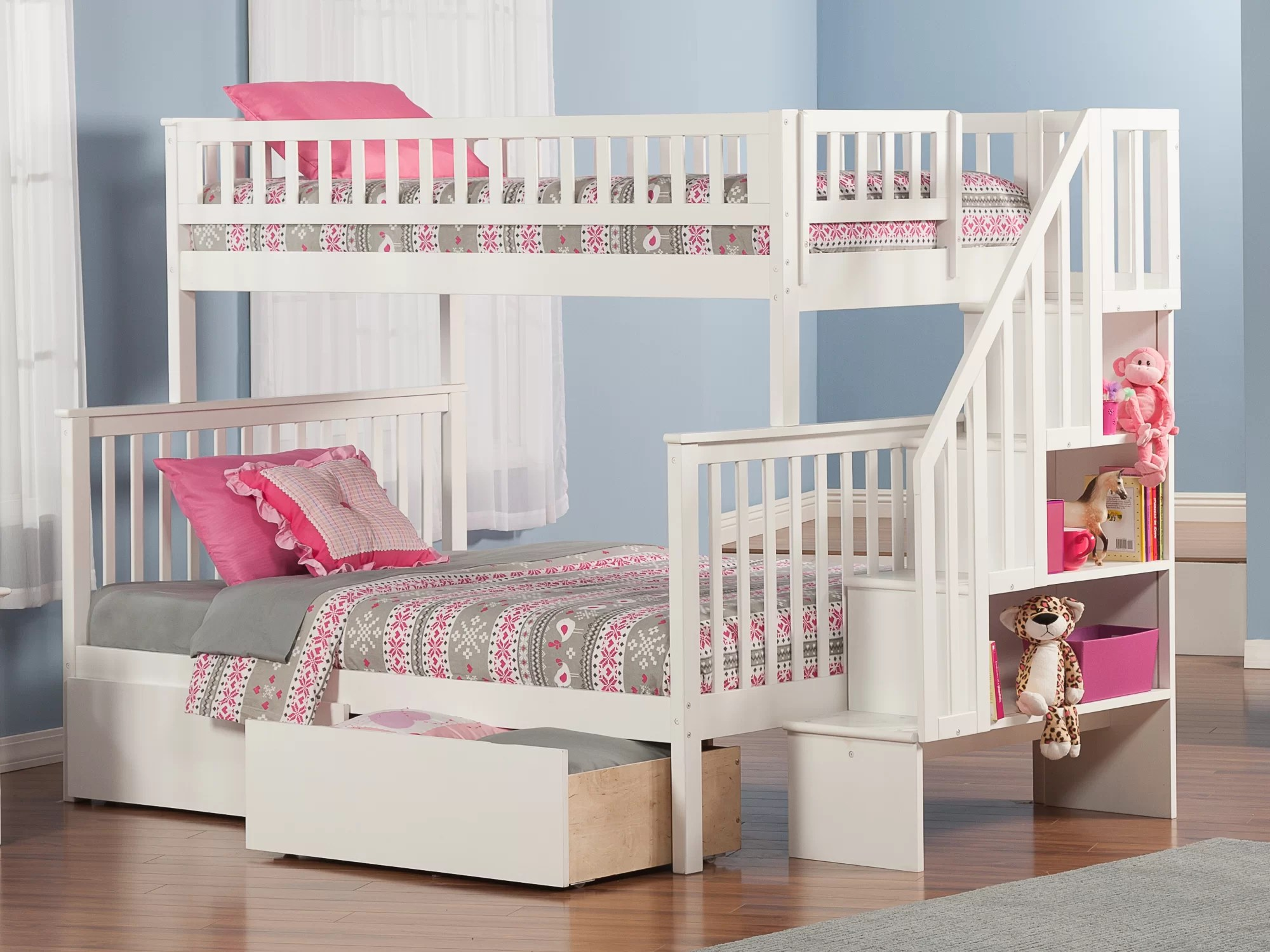 Snooze Bunk Beds Shyann Bunk Bed With Storage