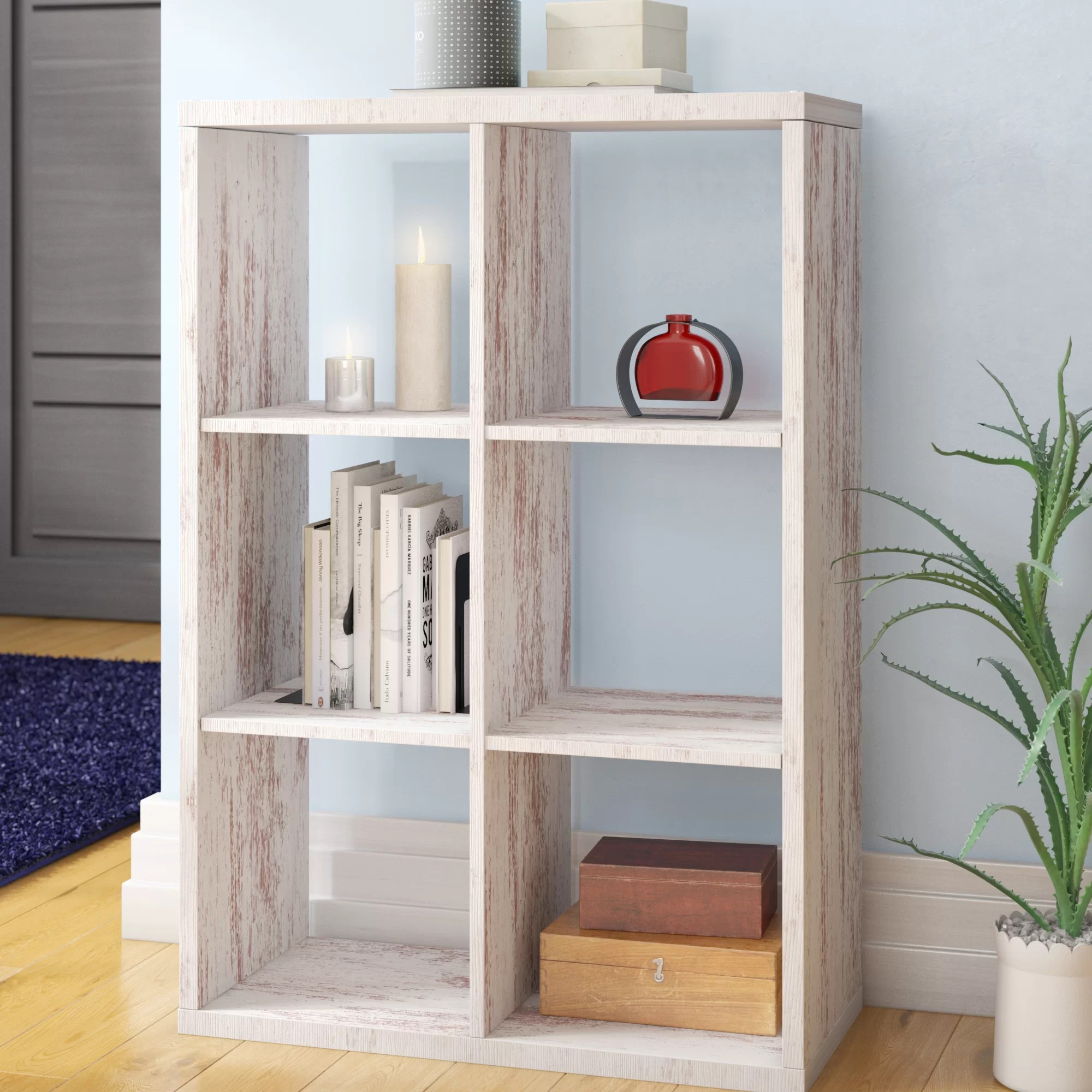 17 Stories 107 Cm Bücherregal Bewertungen Wayfair De