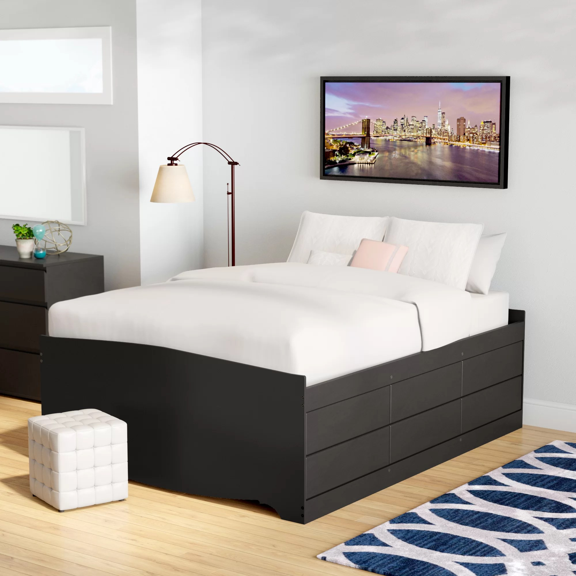 Bedding Storage Nolanville Storage Platform Bed