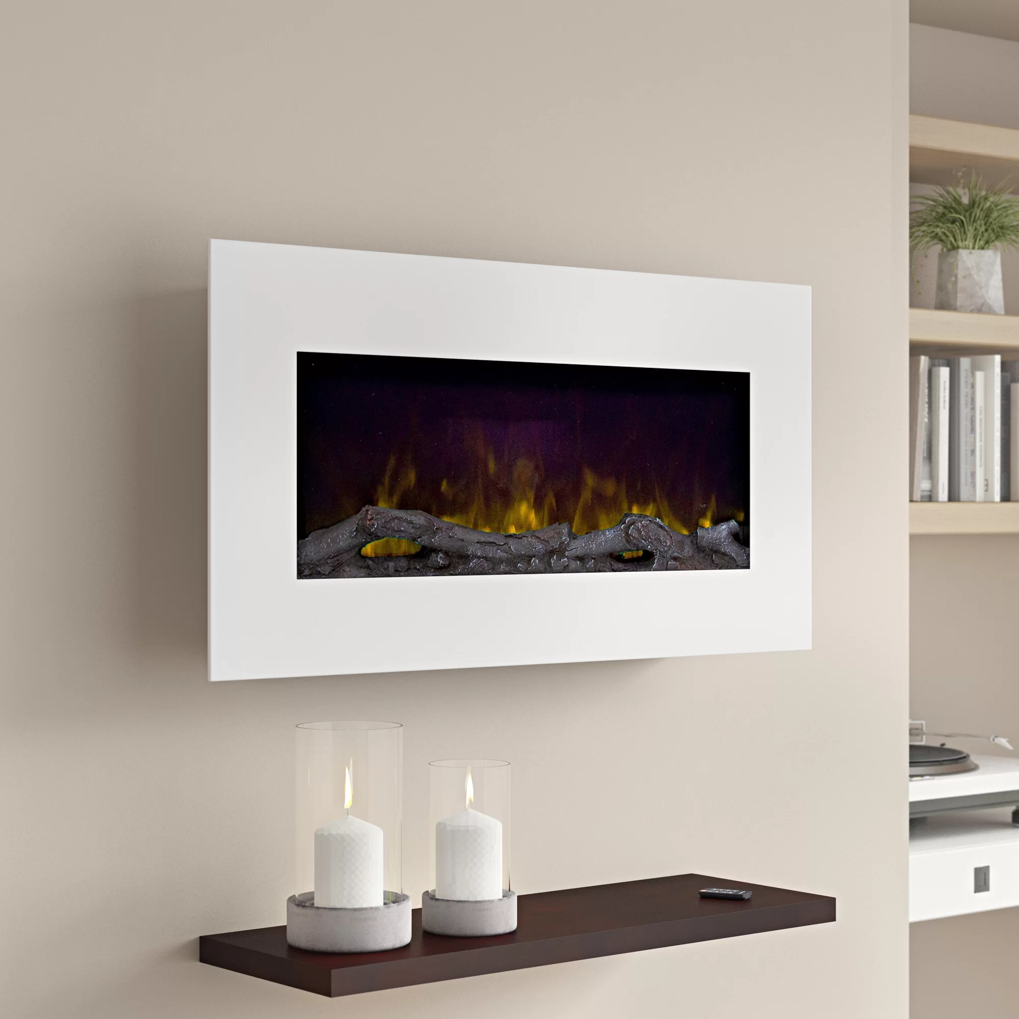 Wall Mount Fireplaces Bedfo Led Wall Mounted Electric Fireplace