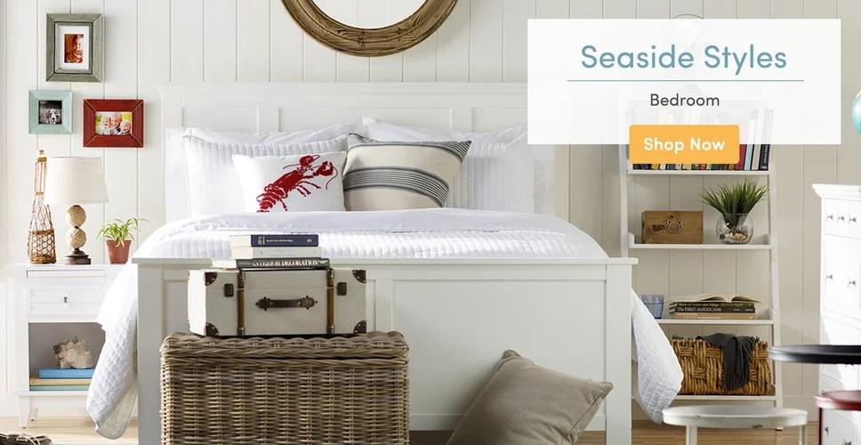 Nautical Furniture \ Decor Youu0027ll Love Wayfair - coastal living room furniture