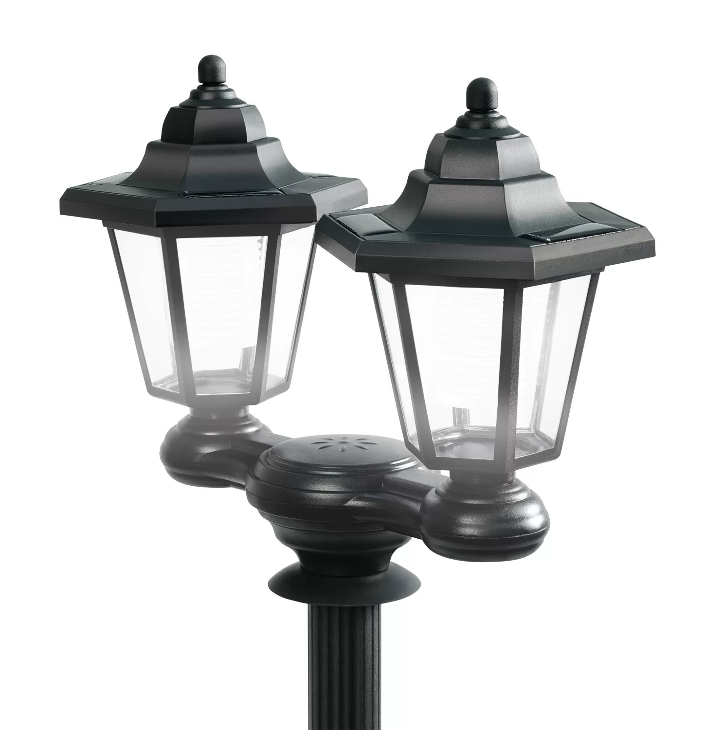 Solar Lamp Post Solar Pole 2 Light 60