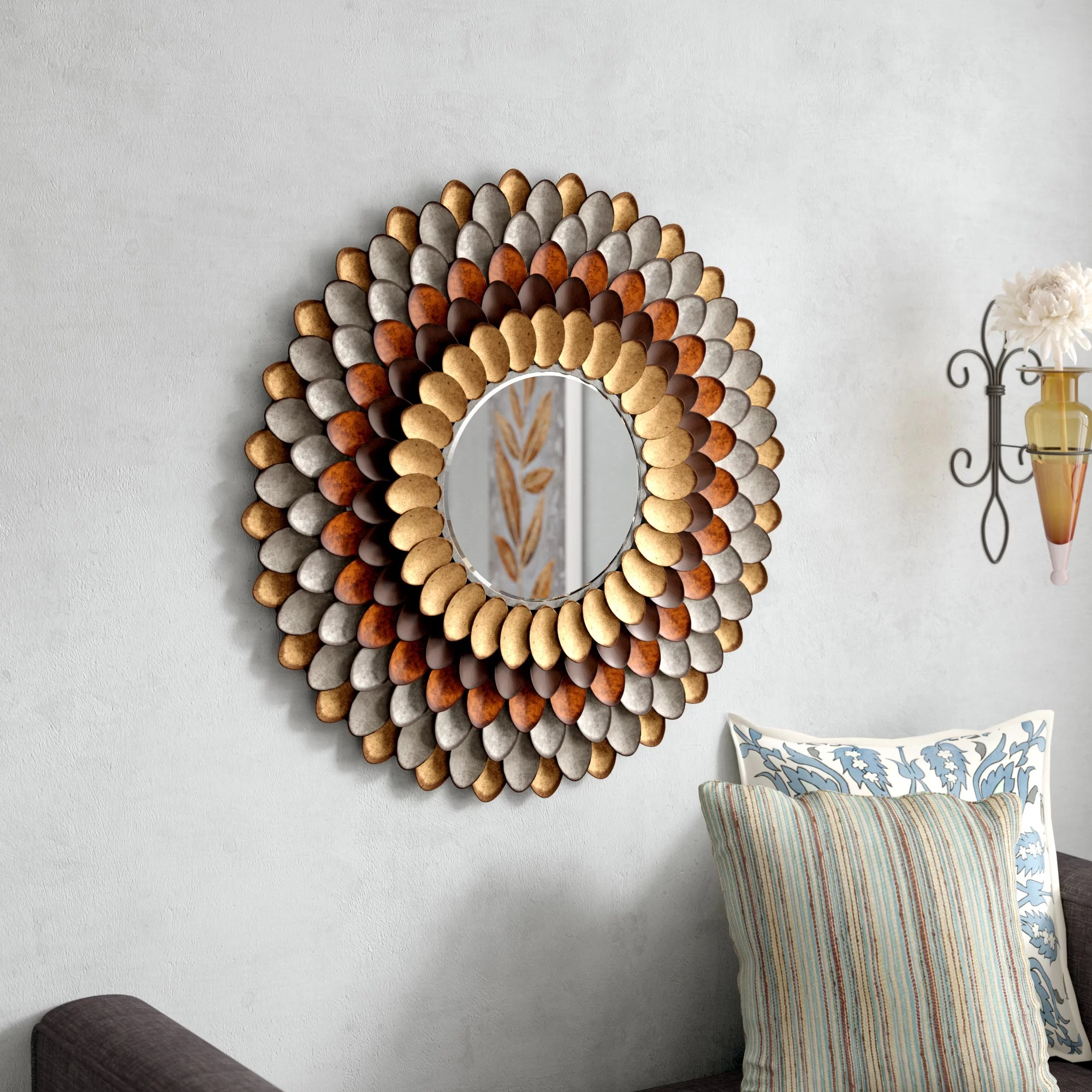 Decorative Mirror Decorative Round Wall Mirror