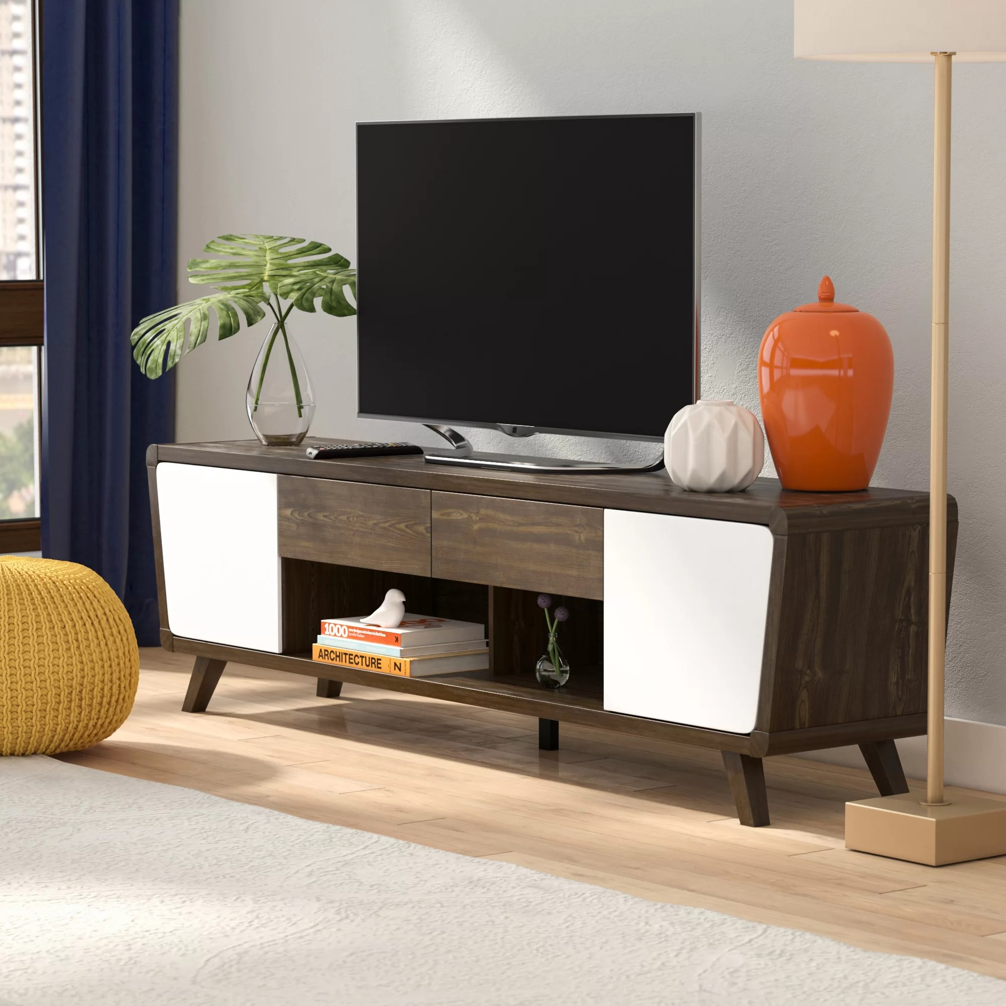 Tv Sideboard Modern Dormer Modern Tv Stand For Tvs Up To 70