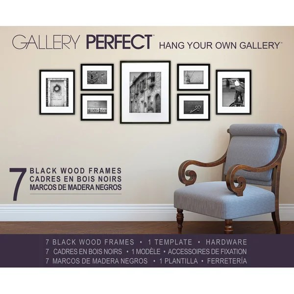 7 Piece Wood Matted Picture Frame Set \ Reviews AllModern - 7 piece living room set