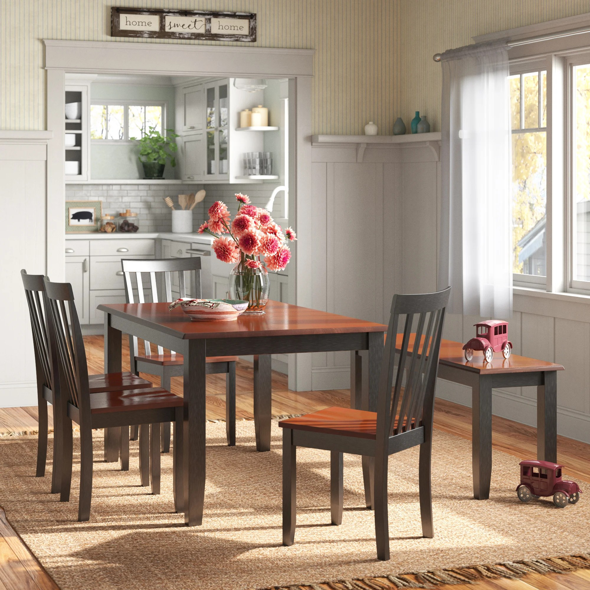Bench Kitchen Dining Room Sets Free Shipping Over 35 Wayfair