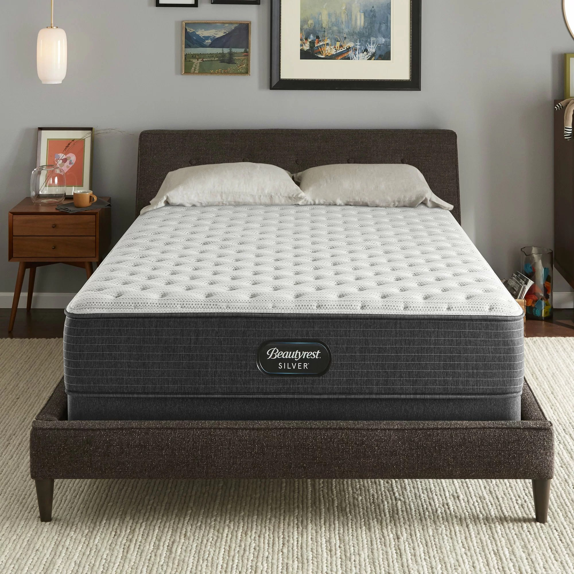 Serta Mattress Uk Simmons Beautyrest Wayfair