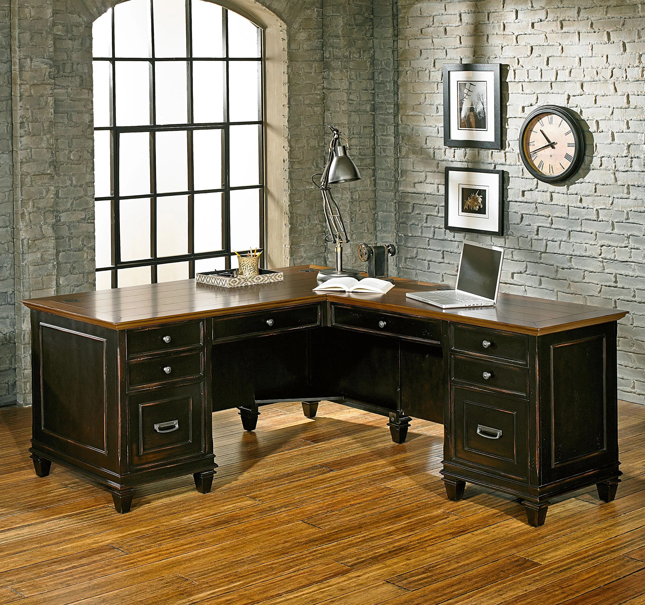 Executive L Shaped Desk Django L Shape Executive Desk
