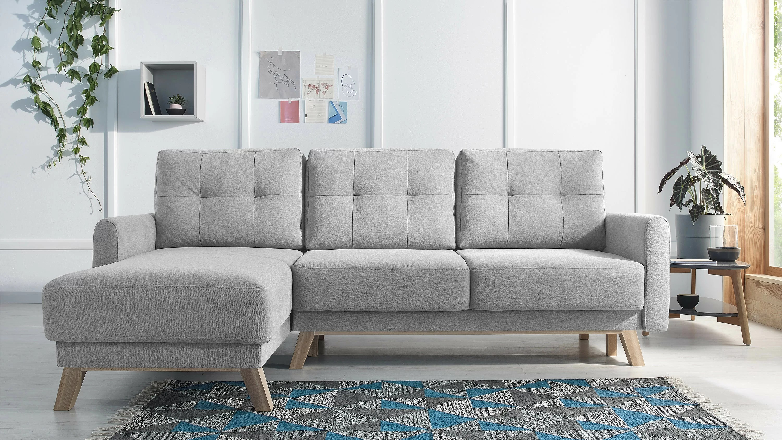 Zipcode Design Ecksofa Annette Mit Bettfunktion Bewertungen Wayfair De
