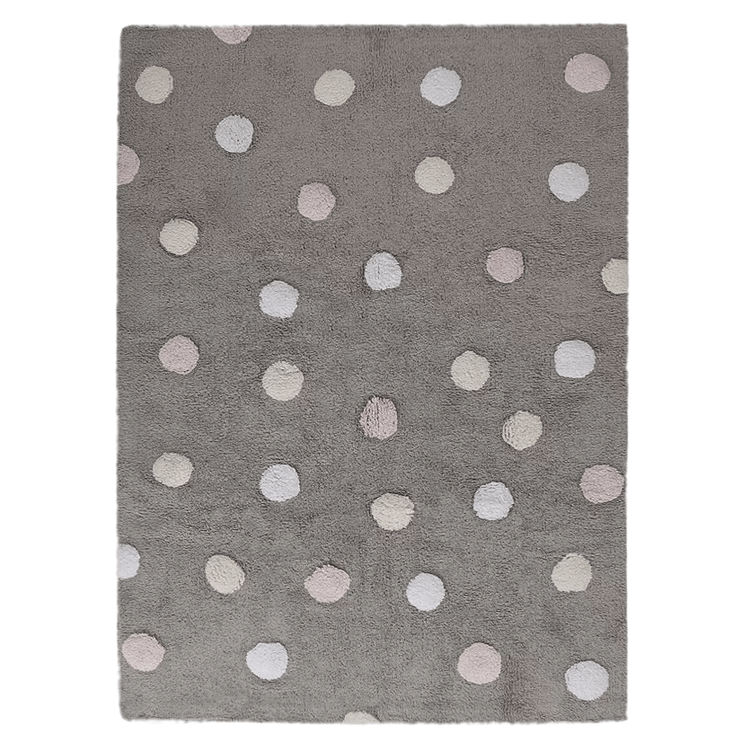 Lorena Canals Teppich Sale Dots Hand Tufted Grey Area Rug