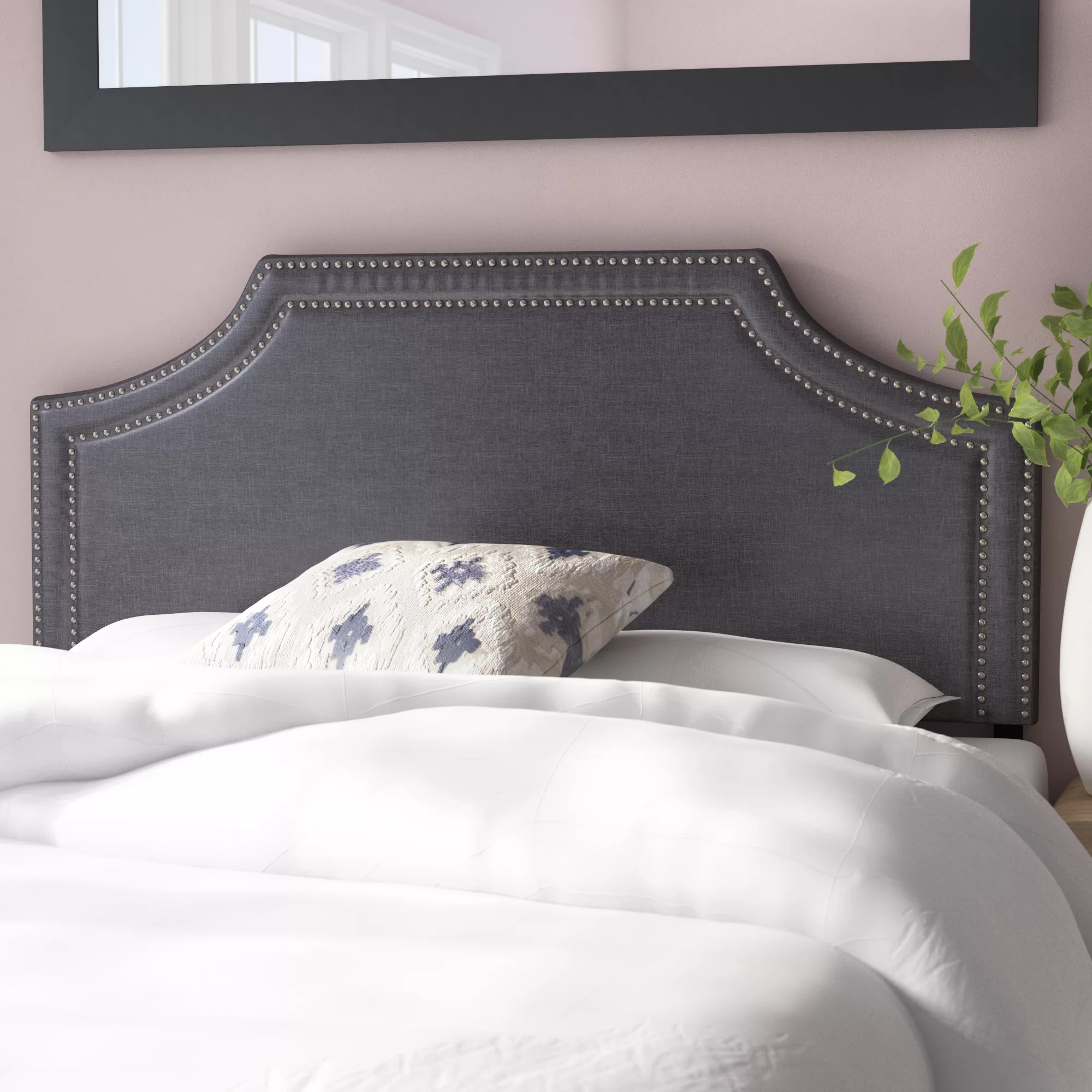 Bed Headboard Albee Upholstered Panel Headboard