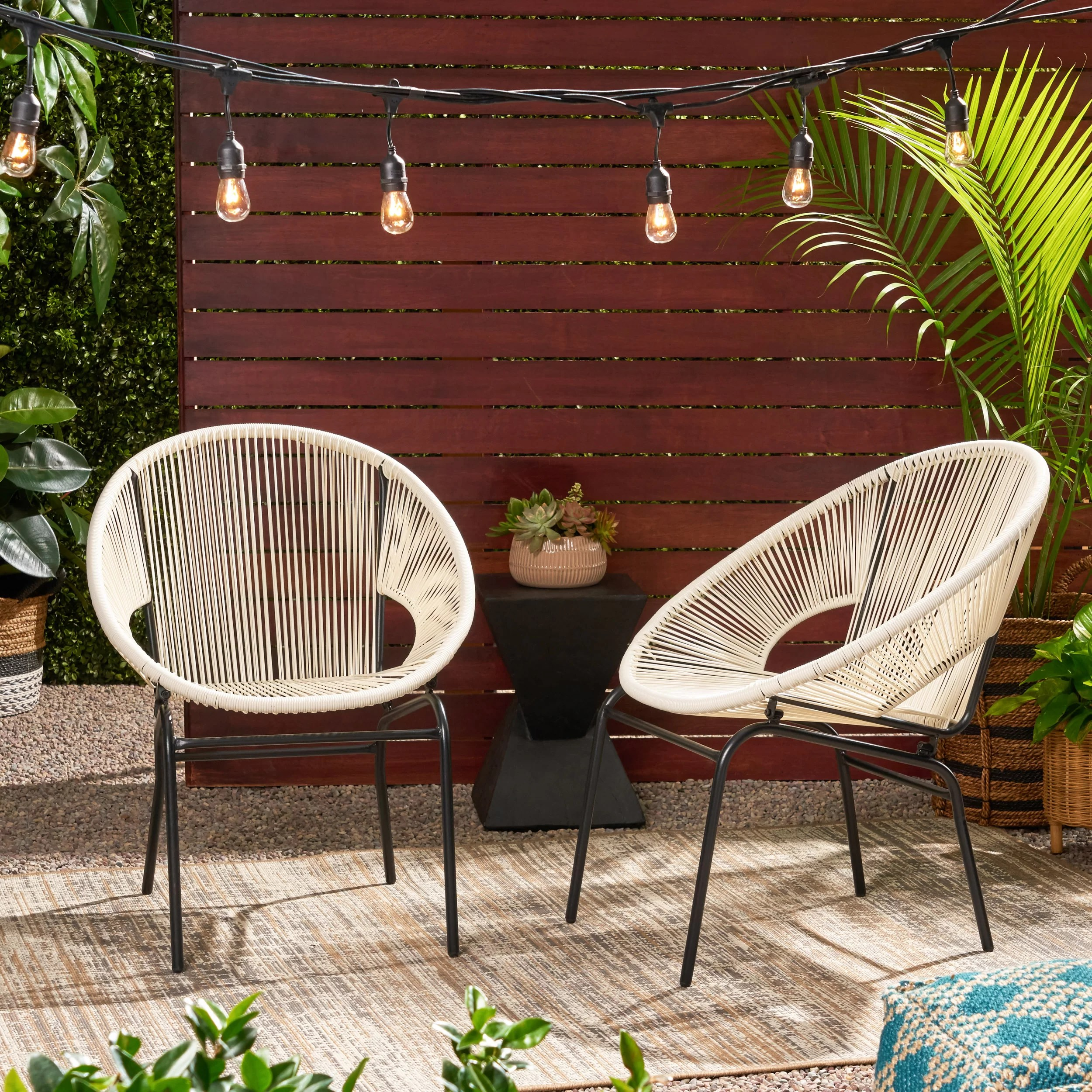 Wrought Studio Indira Outdoor Modern Patio Chair Reviews Wayfair Ca