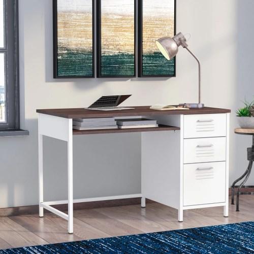 Medium Crop Of Metal Computer Desk