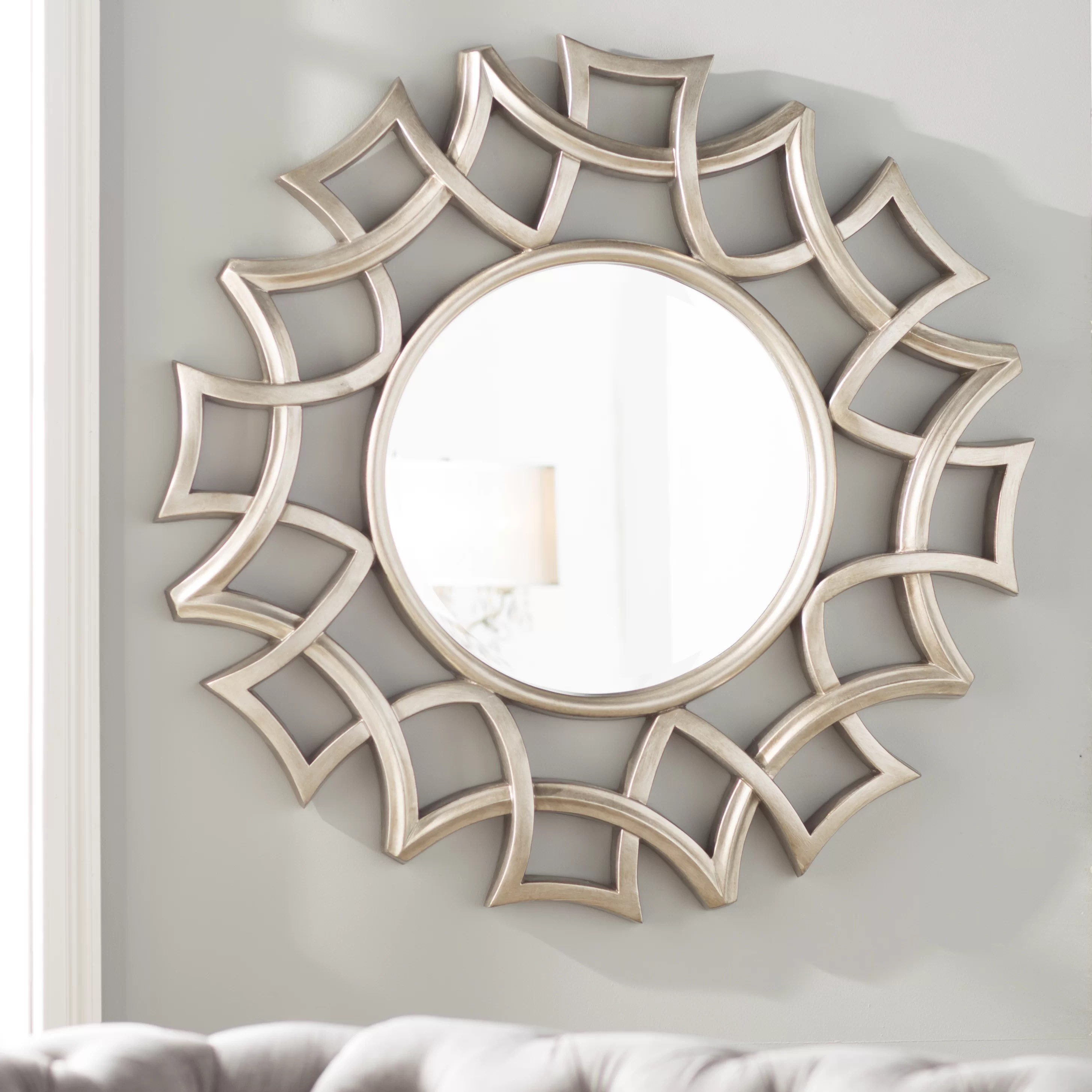 Sun Shaped Mirrors Burst Mirror Wayfair