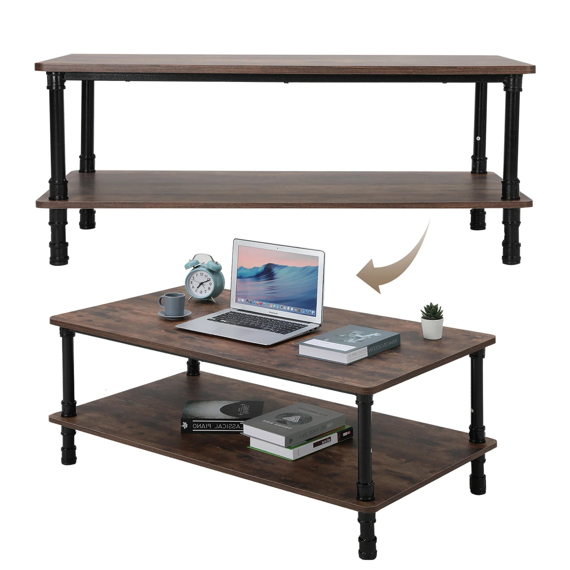 Williston Forge Verner Coffee Table With Storage Wayfair