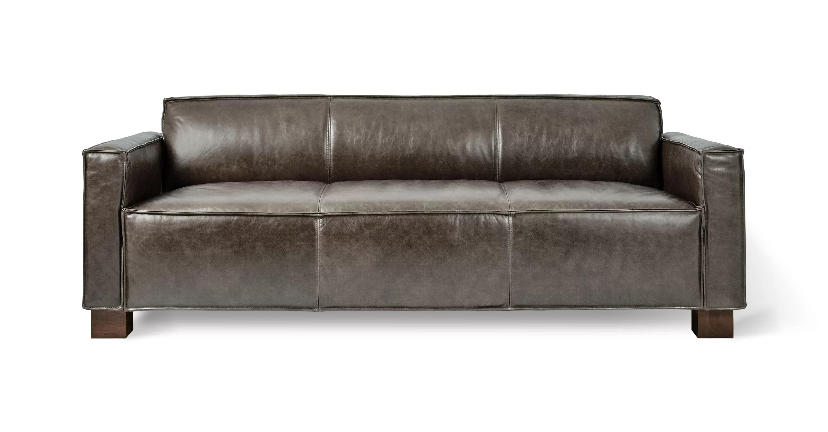 Sofa Entertainment Group Llc Cabot Leather Sofa