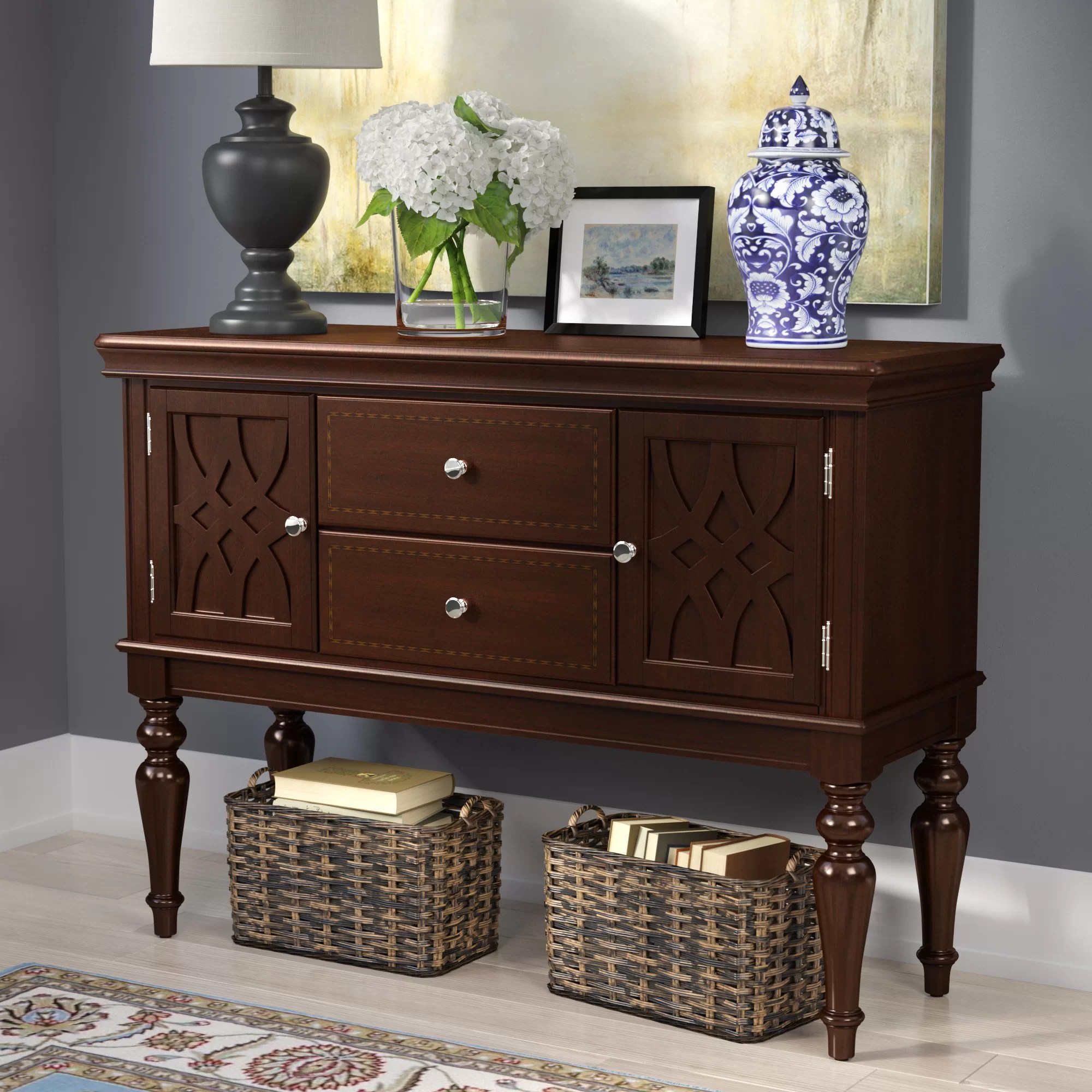 Buffet Sideboard Blue Blue Hills Buffet