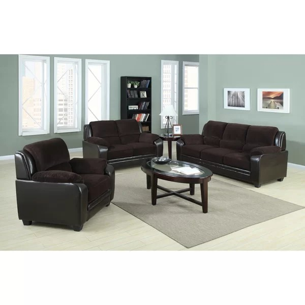 Container 3 Piece Living Room Set \ Reviews Wayfair - 3 piece living room table set