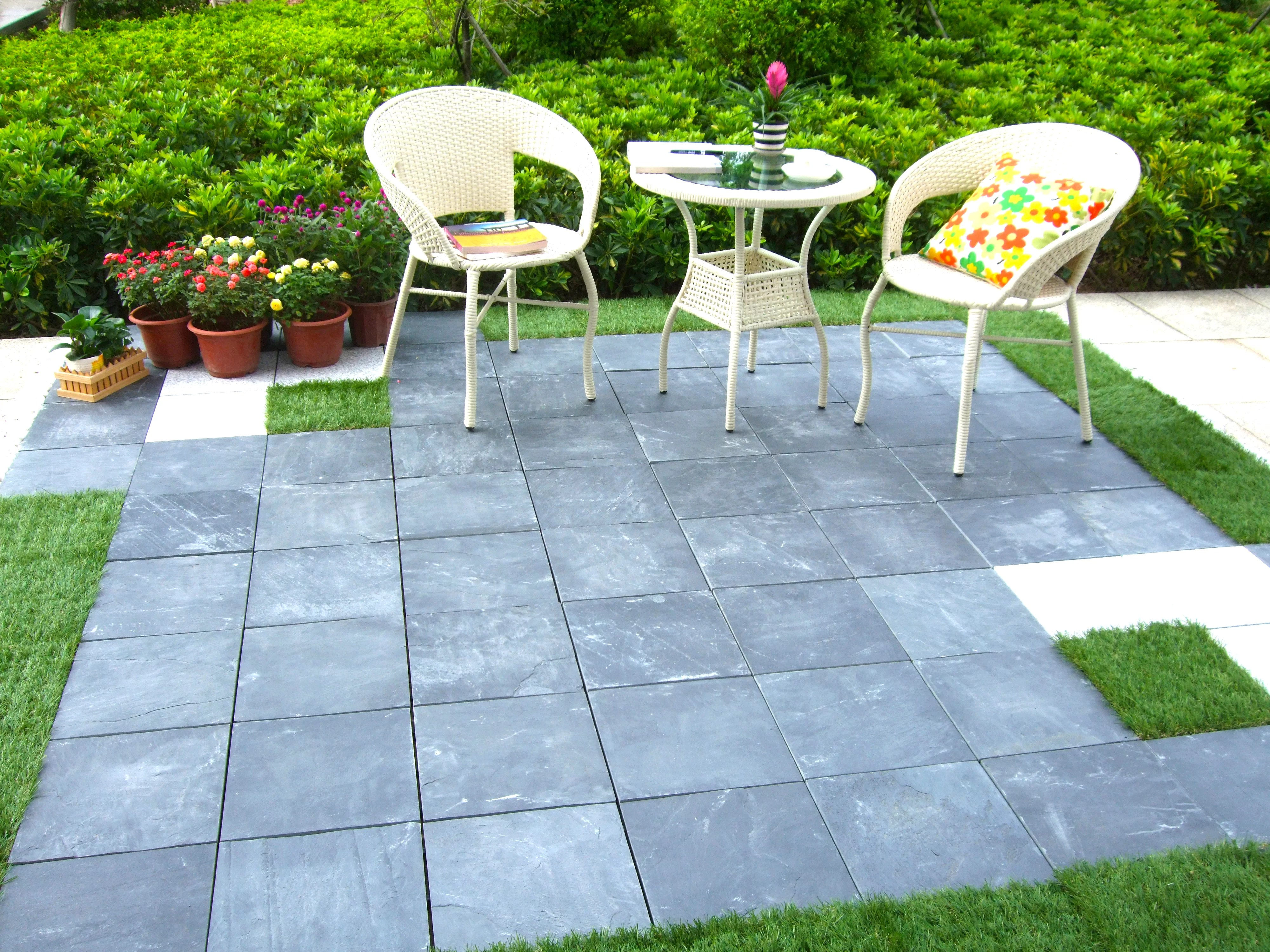 Interlocking Deck Tiles Courtyard 11 8