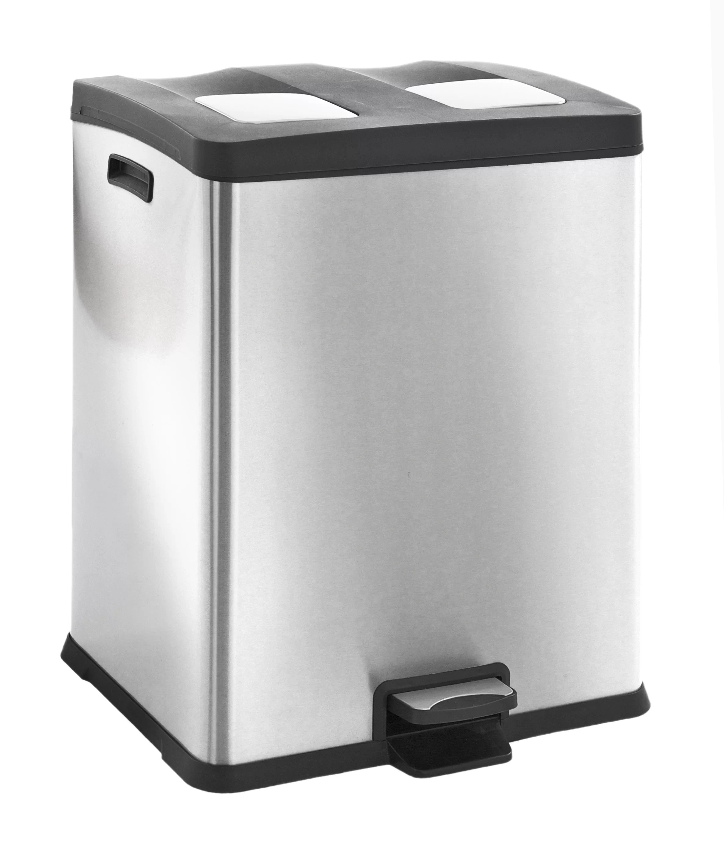 Tretmülleimer 30 L Rejoice Recycle 60l Step On Stainless Steel Bin