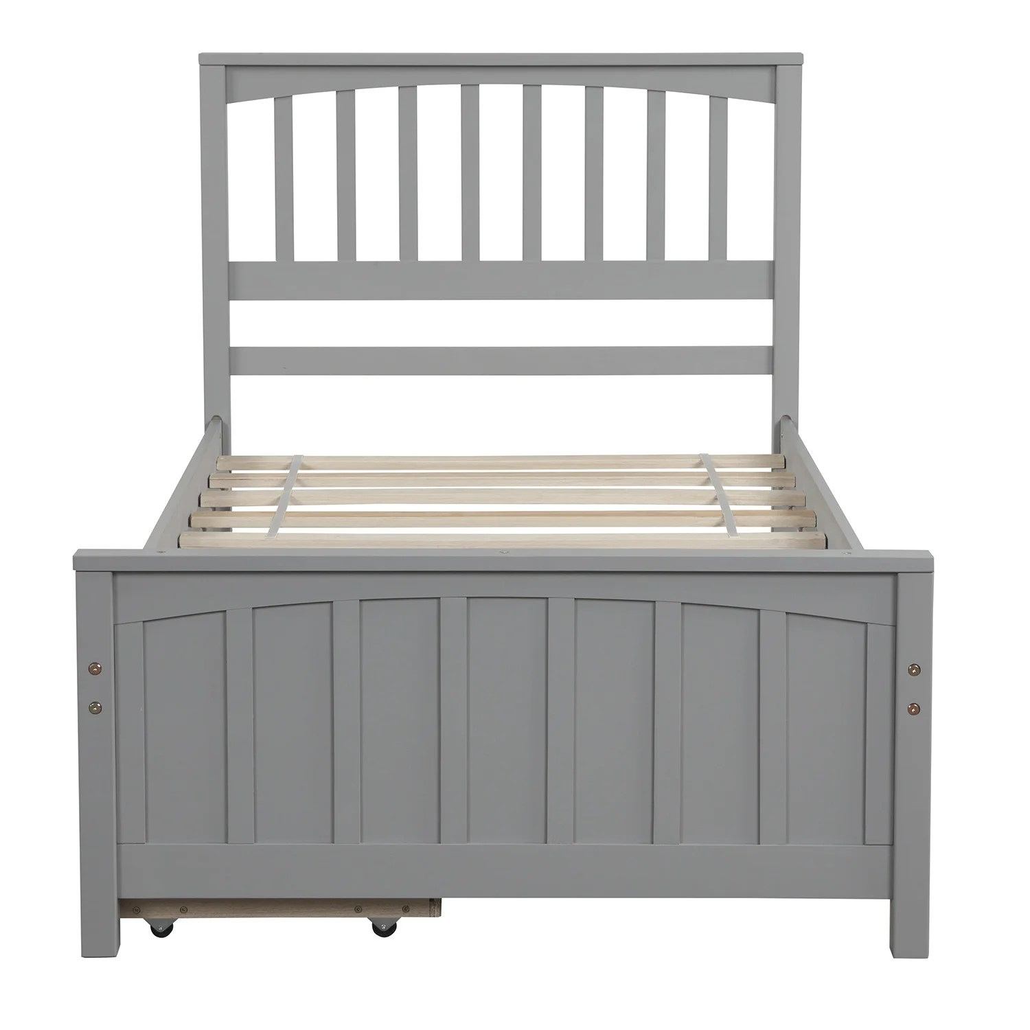 Breakwater Bay North Stoke Twin Storage Platform Bed Wayfair