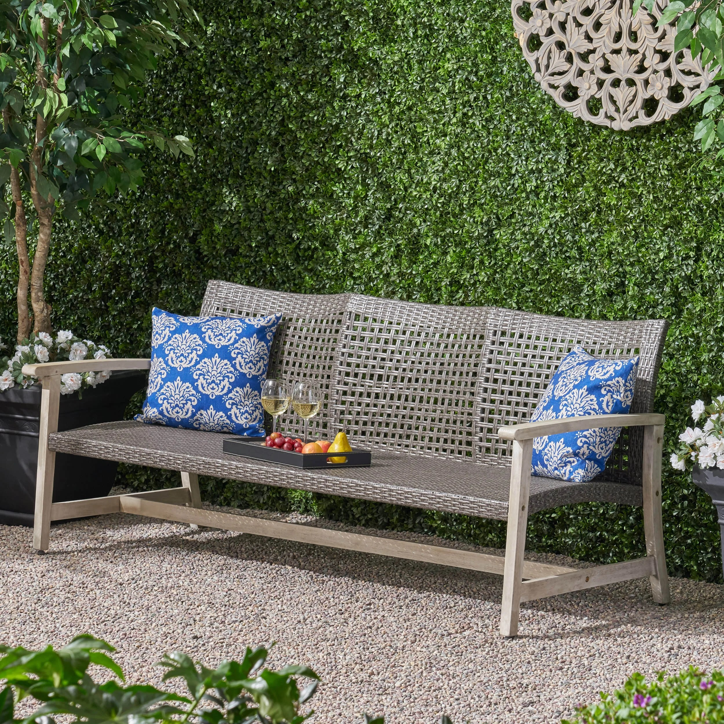 Without Cushions Millwood Pines Patio Sofas Sectionals You Ll Love In 2021 Wayfair