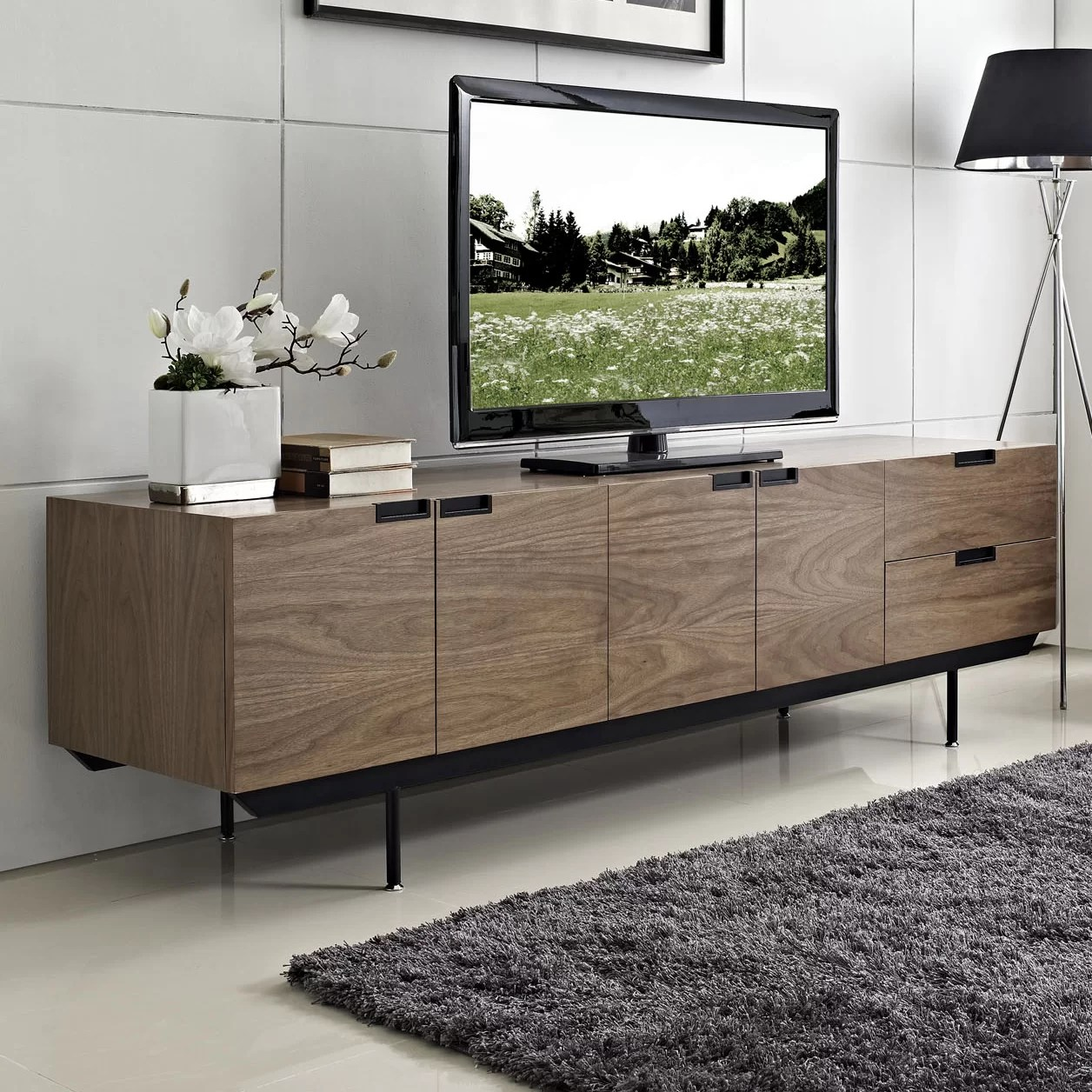 Tv Lowboard Dot Herald Tv Stand For Tvs Up To 78