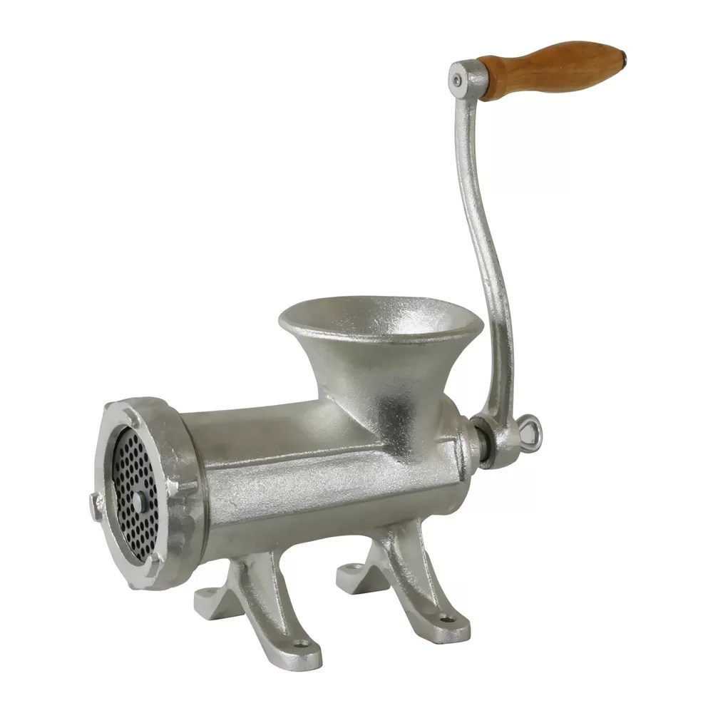 Cucina Pro Meat Grinder With Clamp Cast Iron Meat Grinder With 3 Sausage Stuffing Tube