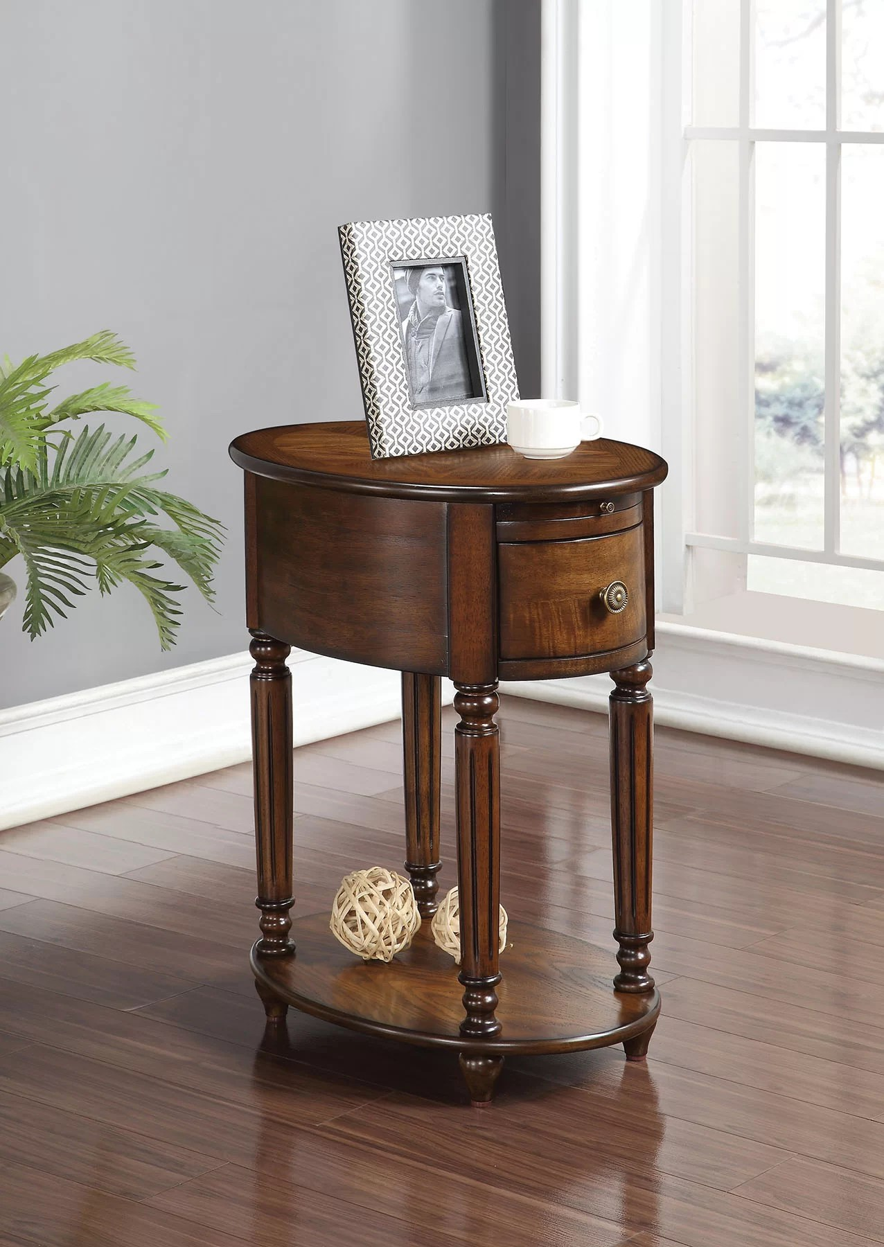 Alcott Hill Rosen End Table With Storage Reviews Wayfair
