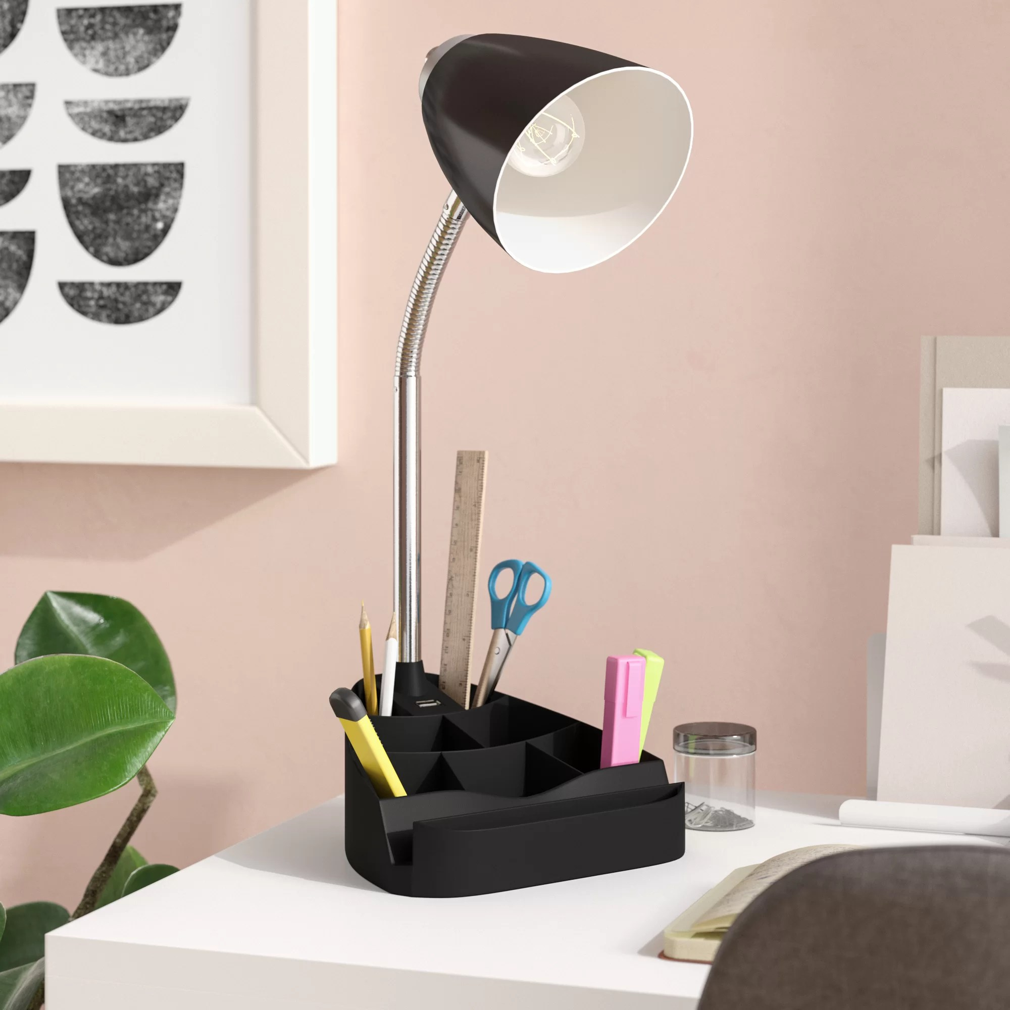Desk Lamp Usb Port 18 5