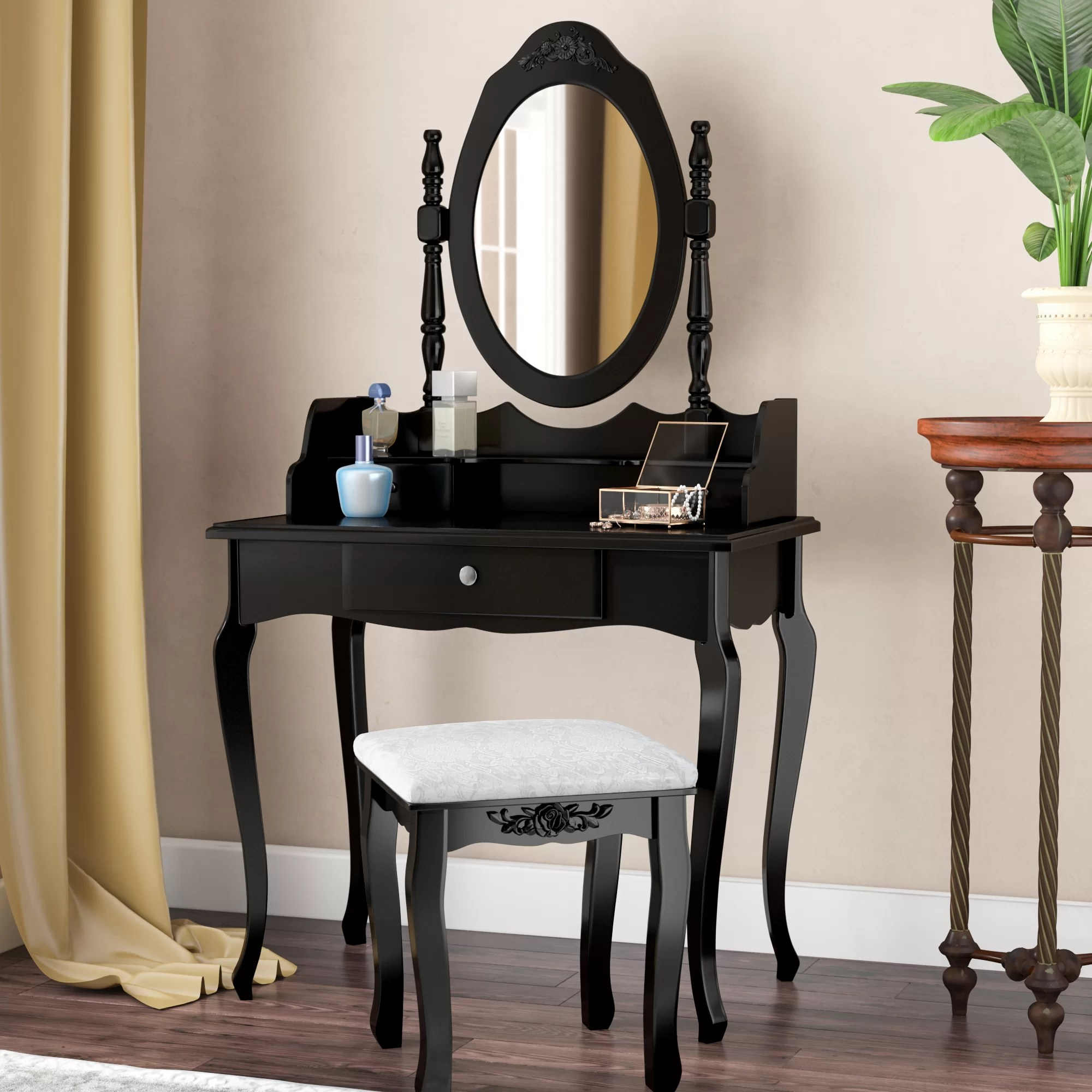 Makeup Table Perth Antique Makeup Vanity With Mirror Zef Jam