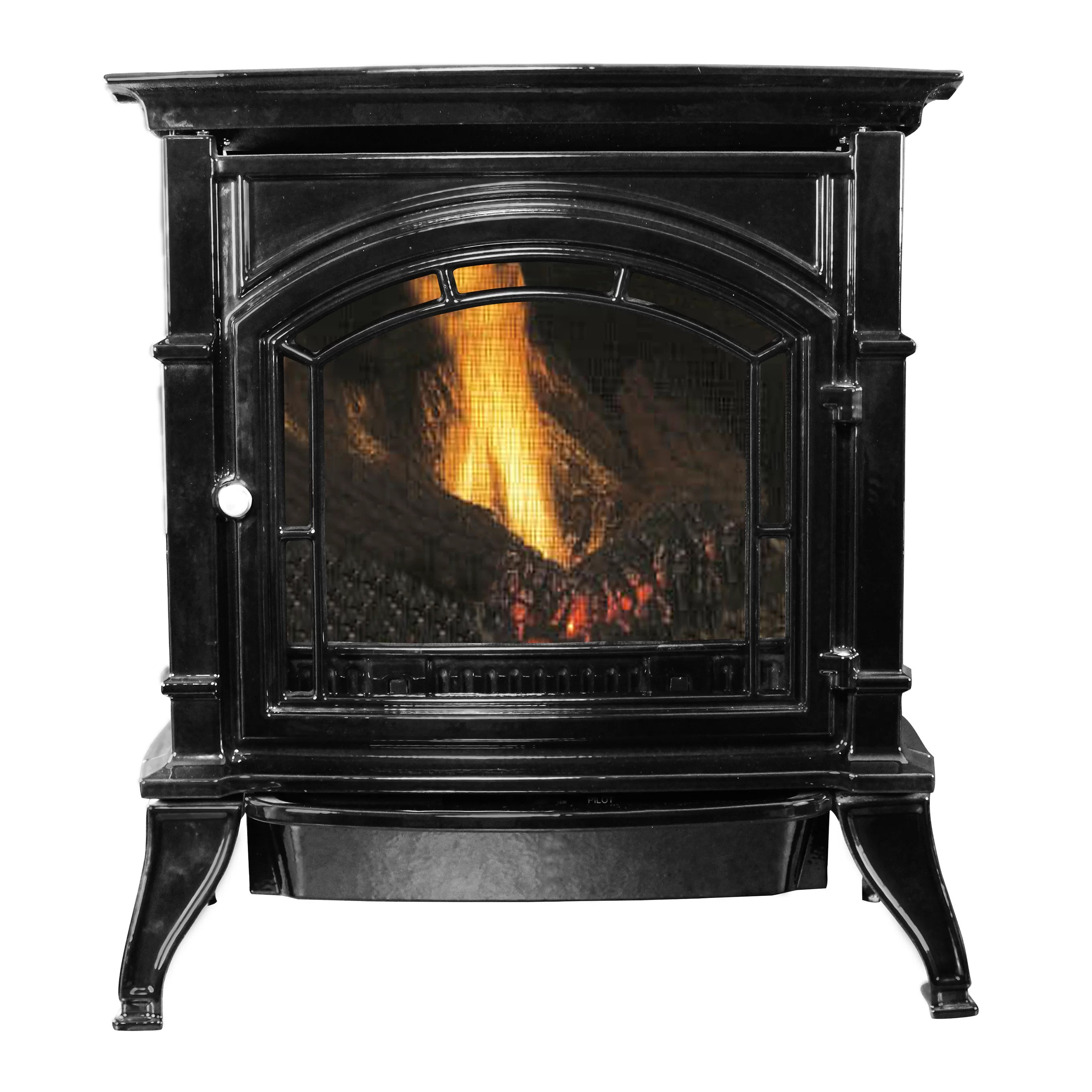 Direct Vent Gas Fireplace Ratings Vent Free Propane Natural Gas Stove